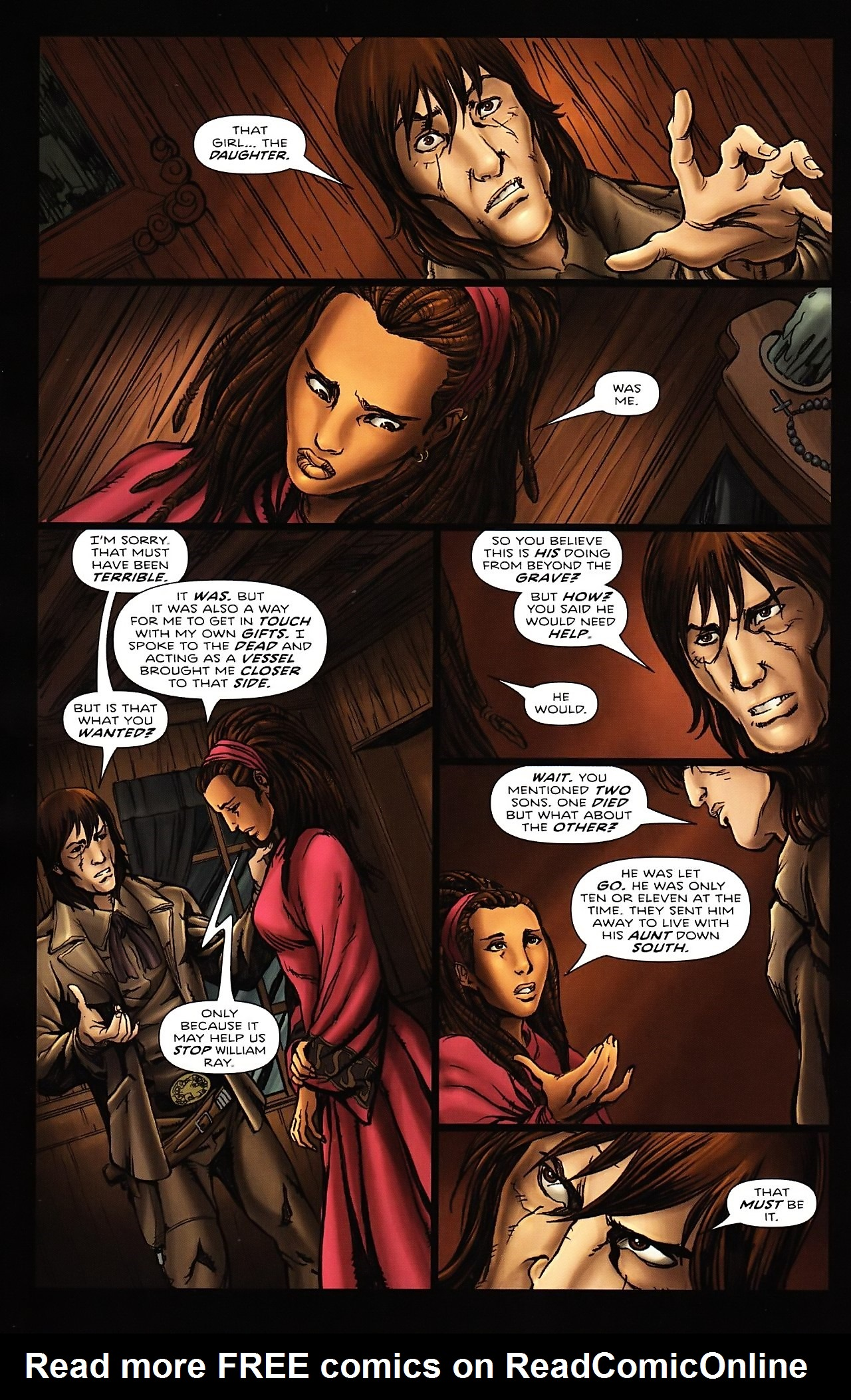 Read online Salem's Daughter: The Haunting comic -  Issue #4 - 22