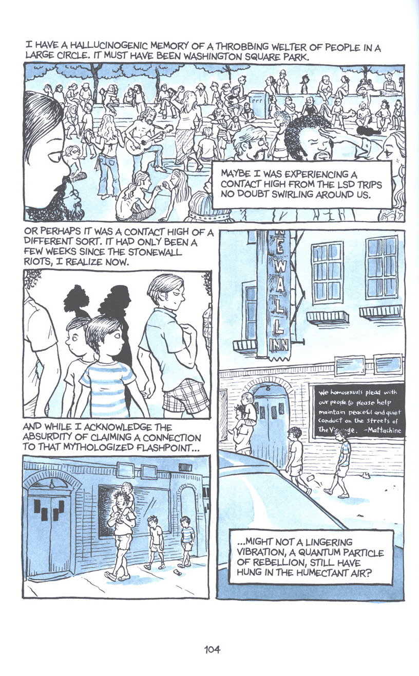 Read online Fun Home: A Family Tragicomic comic -  Issue # TPB - 110