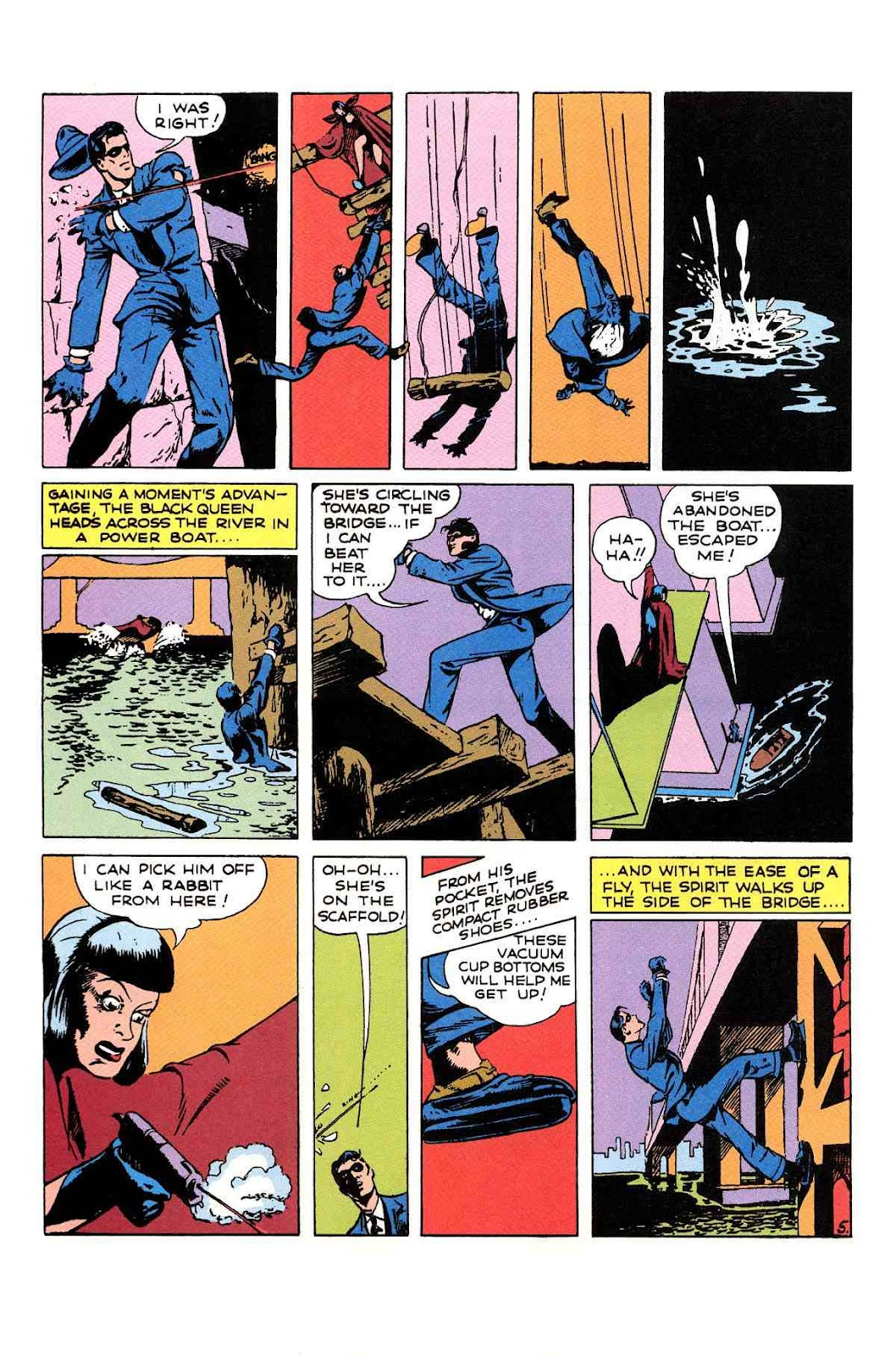 Read online Will Eisner's The Spirit Archives comic -  Issue # TPB 1 (Part 2) - 67