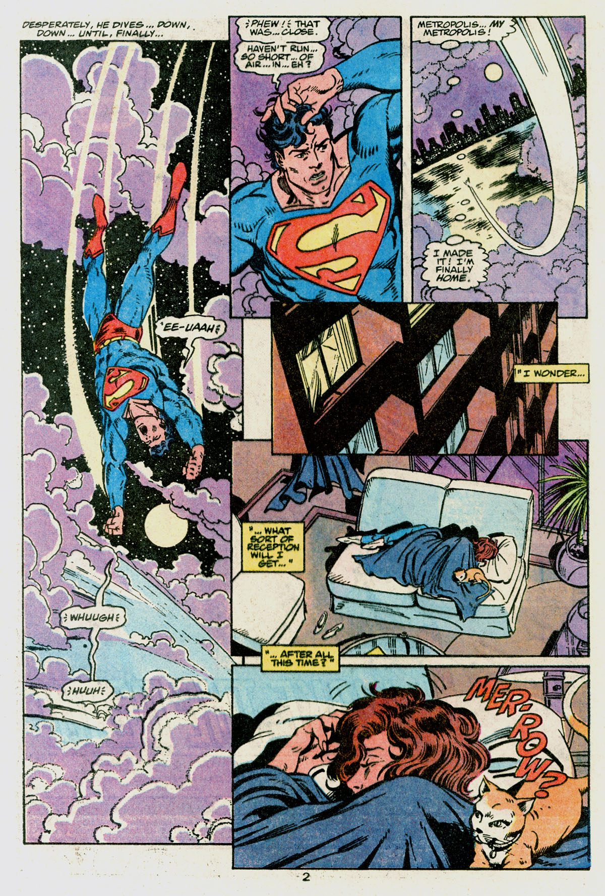 Read online Action Comics (1938) comic -  Issue #665 - 4