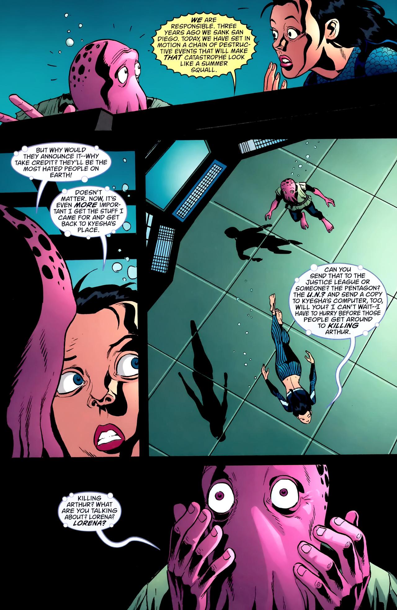 Read online Aquaman: Sword of Atlantis comic -  Issue #55 - 7