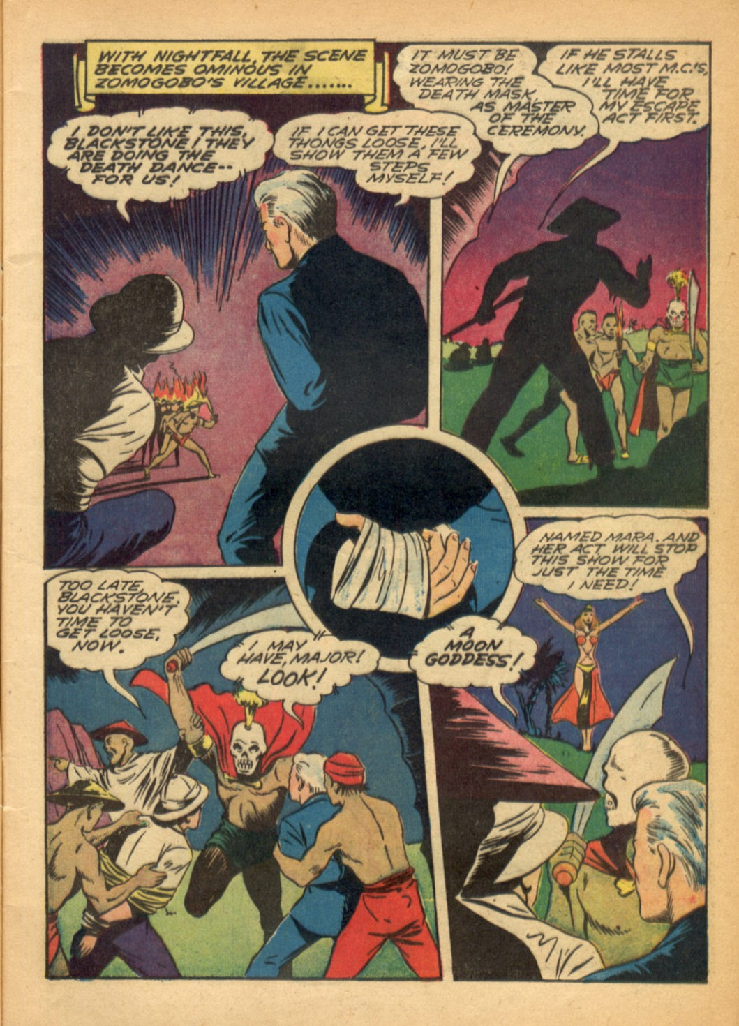 Read online Super-Magician Comics comic -  Issue #6 - 9