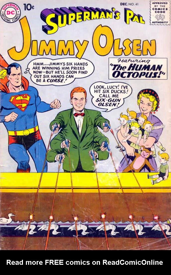 Supermans Pal Jimmy Olsen (1954) 41 Page 1