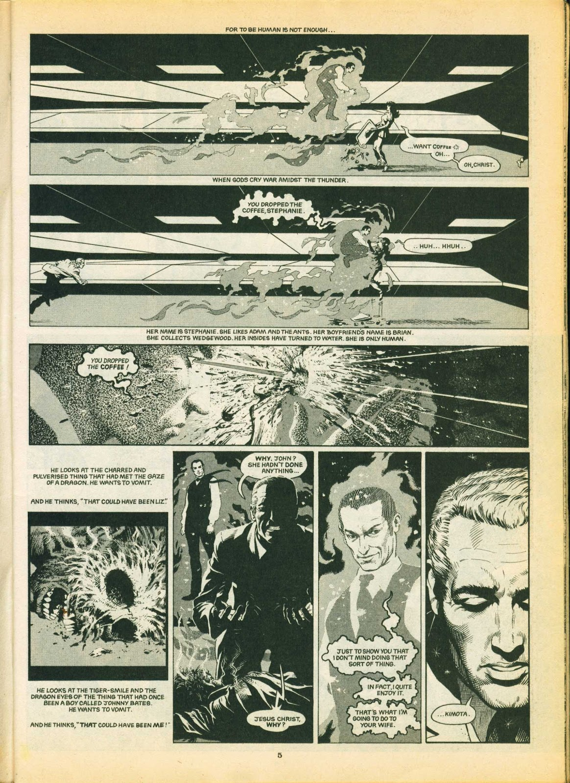 Warrior Issue #5 #6 - English 5
