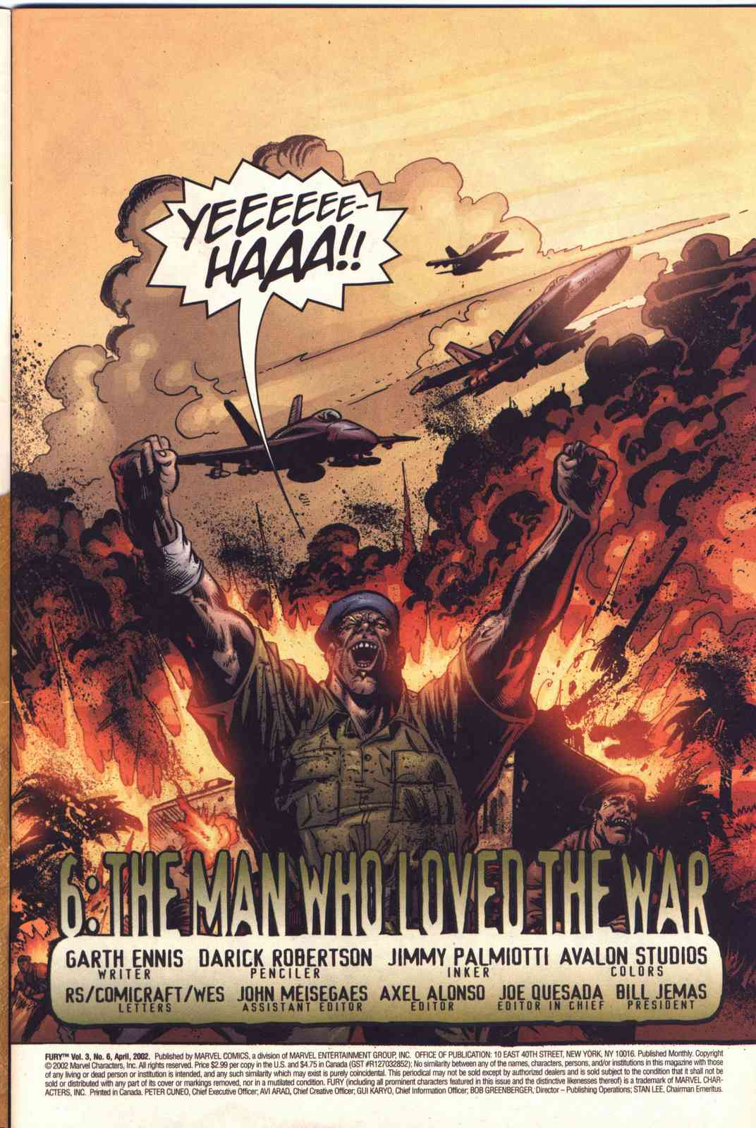 Read online Fury comic -  Issue #6 - 2