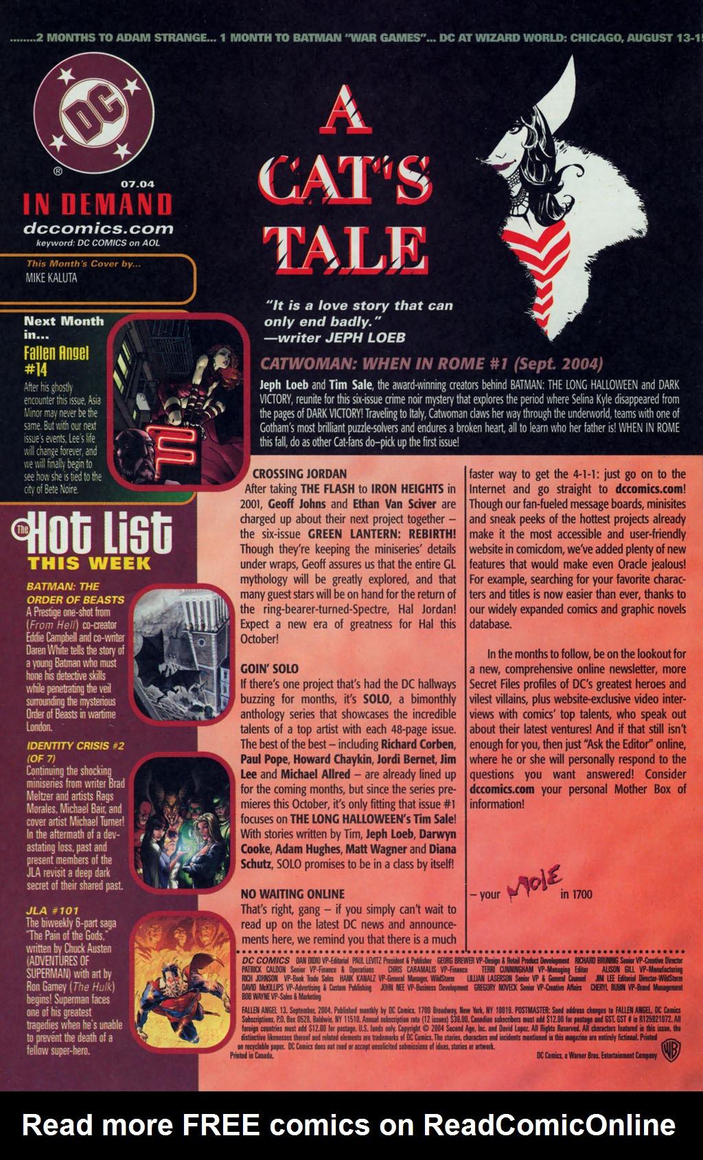 Read online Fallen Angel (2003) comic -  Issue #13 - 24