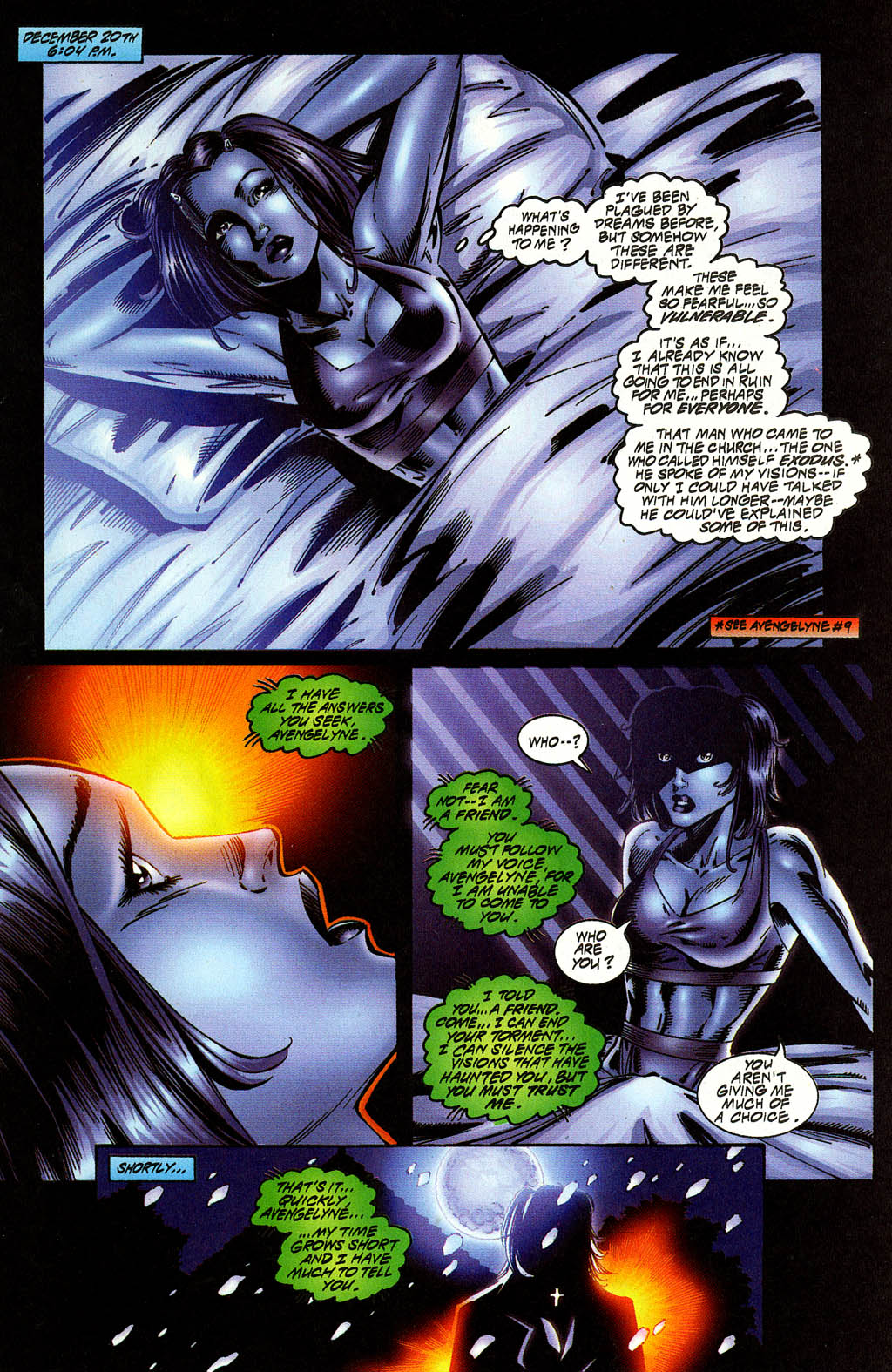 Read online Avengelyne (1996) comic -  Issue #10 - 10