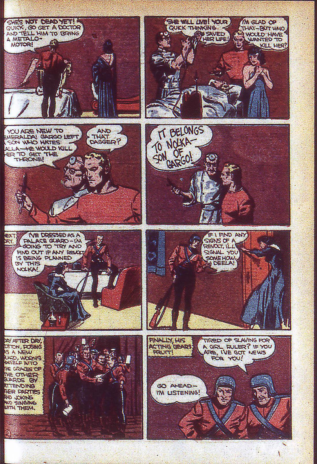 Read online Adventure Comics (1938) comic -  Issue #59 - 34