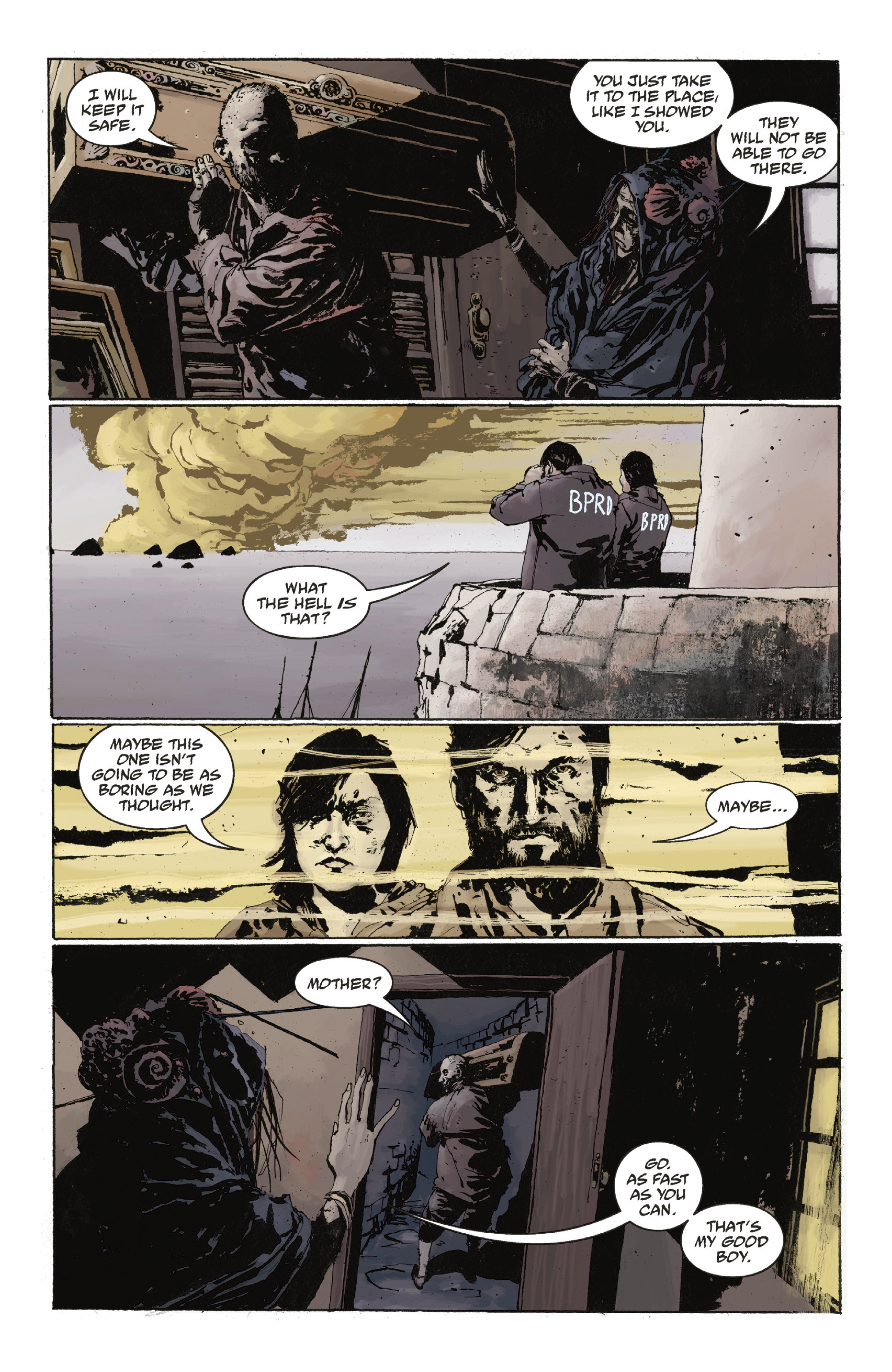 Read online Abe Sapien: The Drowning comic -  Issue #Abe Sapien: The Drowning _TPB - 41