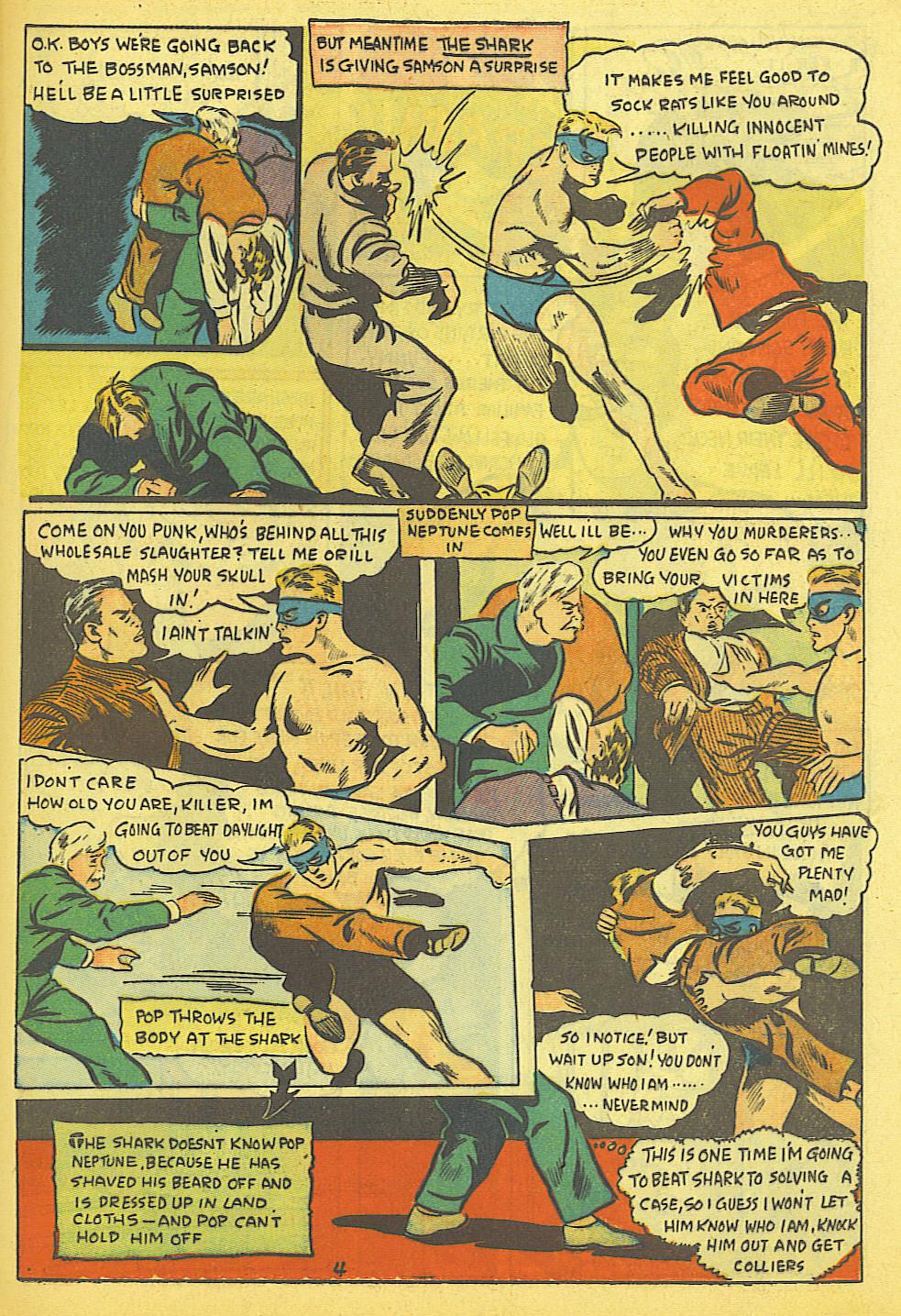 Read online Amazing Man Comics comic -  Issue #19 - 47