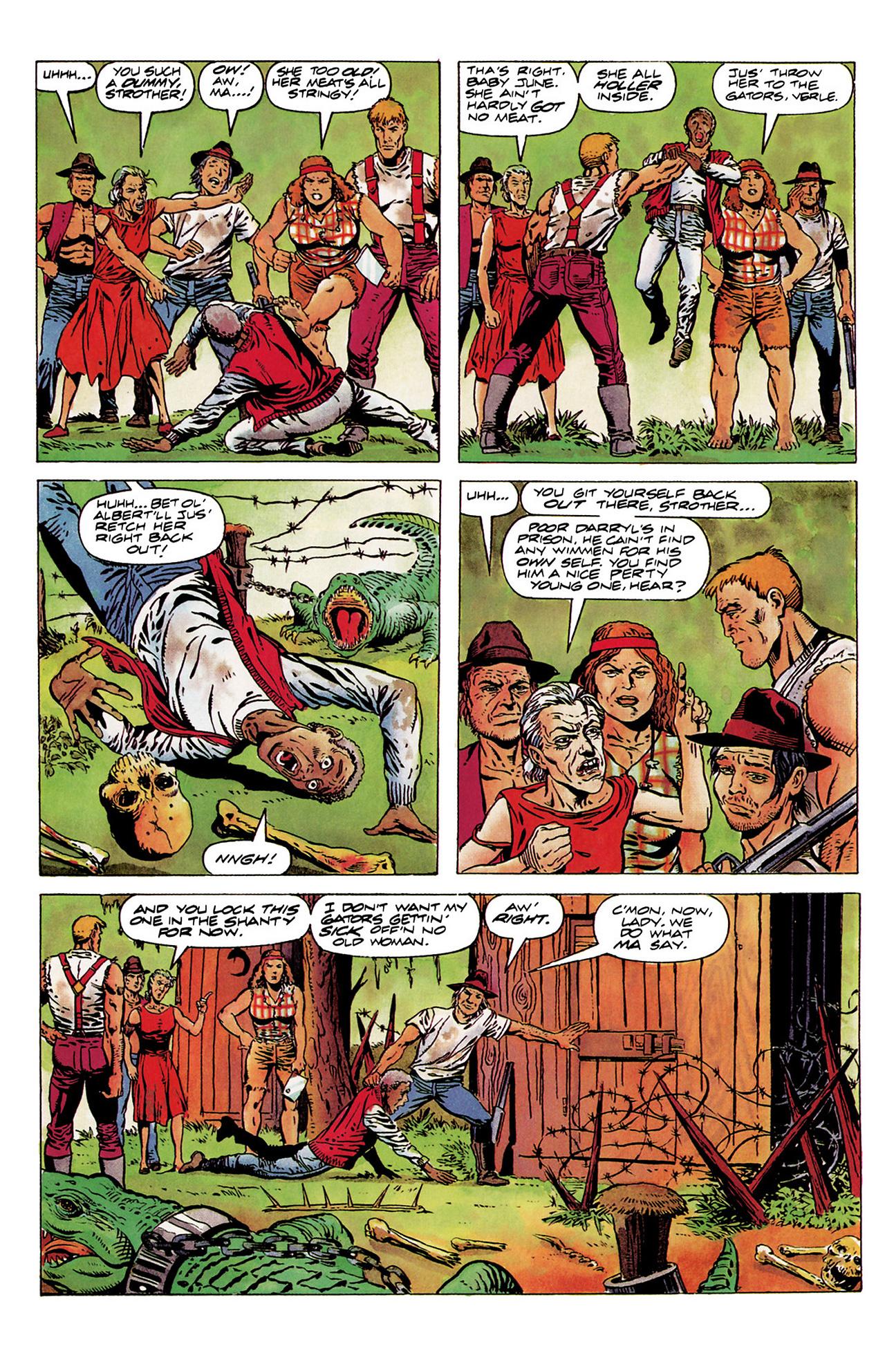 Read online Shadowman (1992) comic -  Issue #6 - 7
