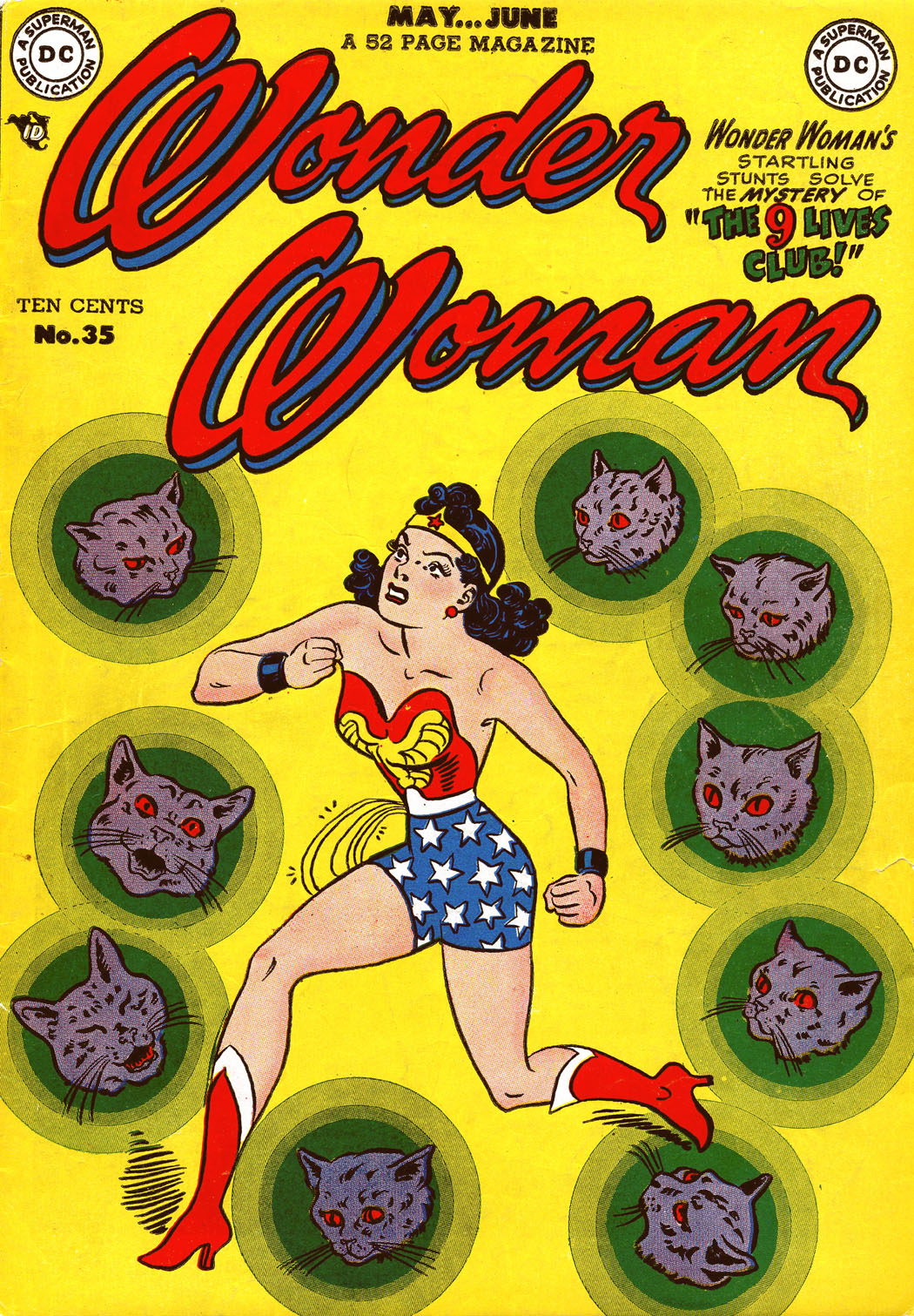 Read online Wonder Woman (1942) comic -  Issue #35 - 1