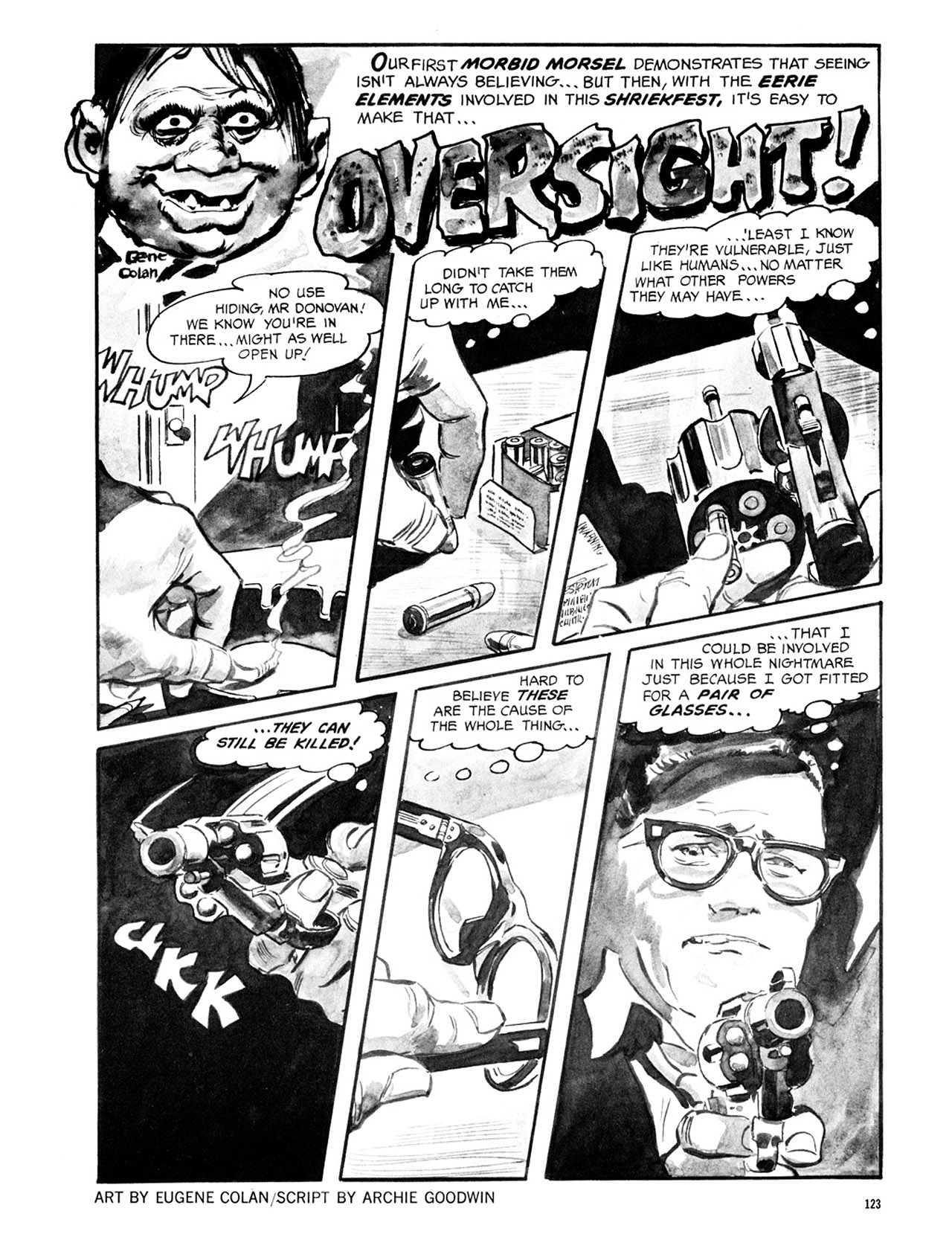 Read online Eerie Archives comic -  Issue # TPB 2 - 124