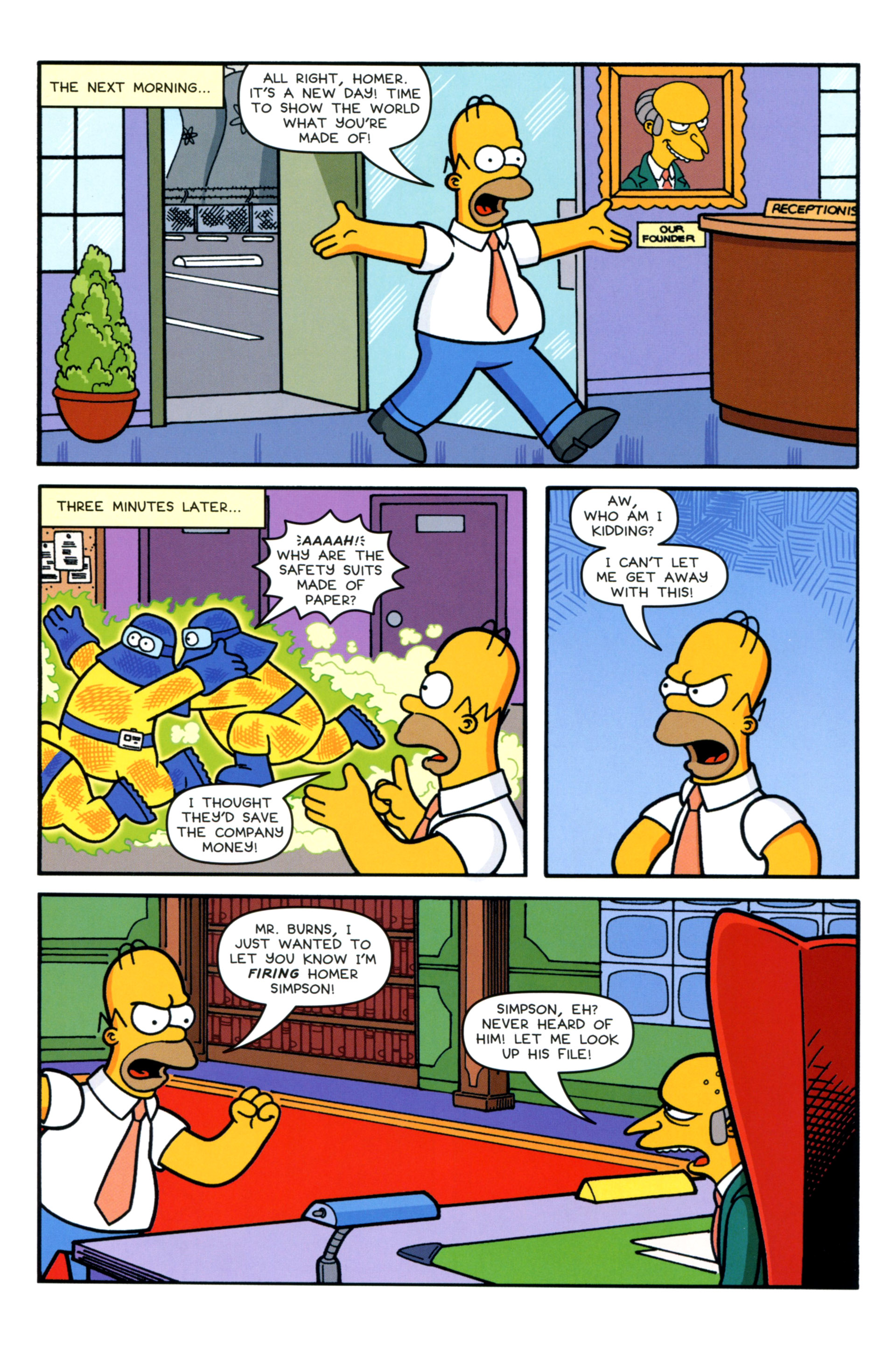 Read online Simpsons Comics comic -  Issue #202 - 22
