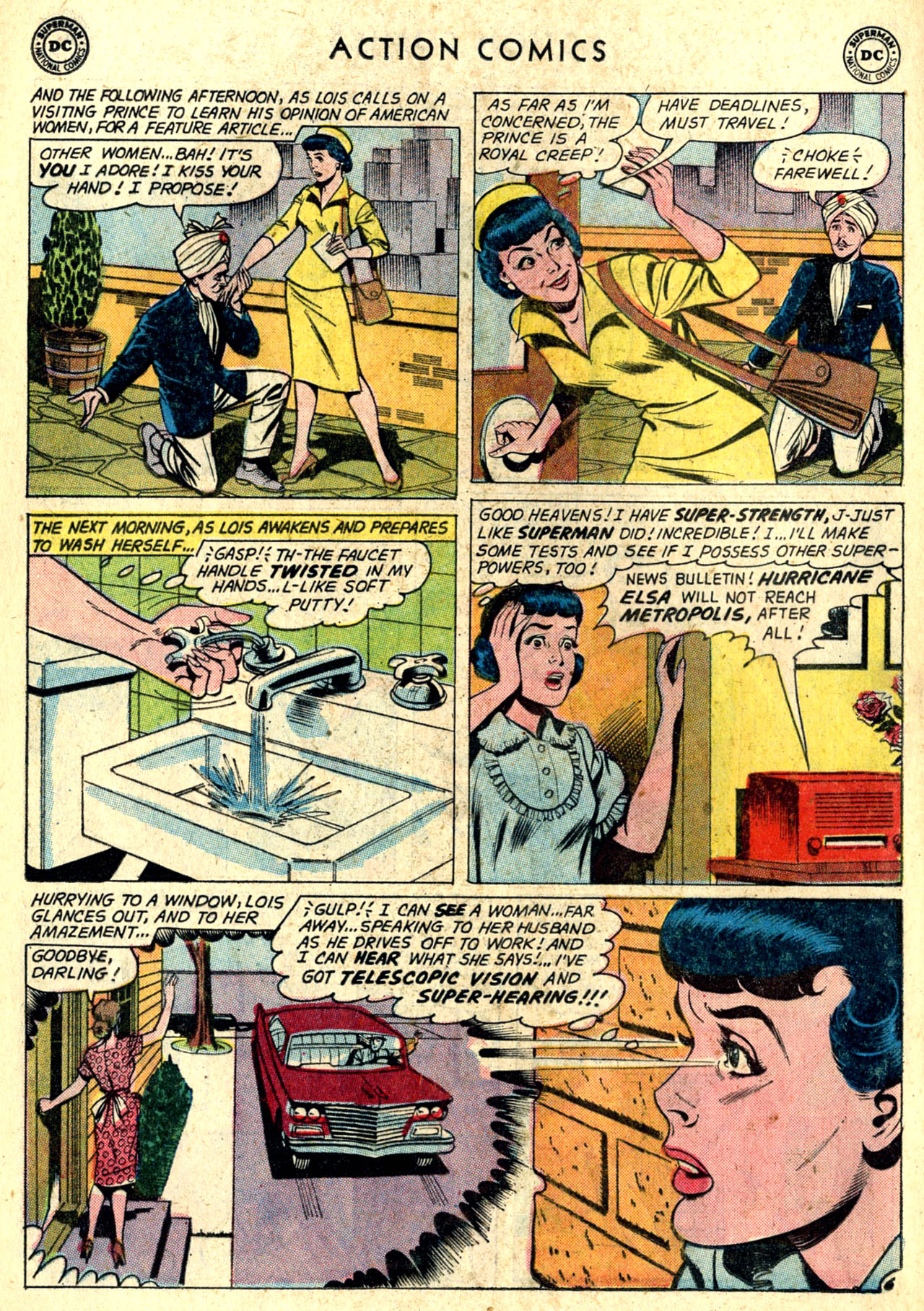 Read online Action Comics (1938) comic -  Issue #274 - 8