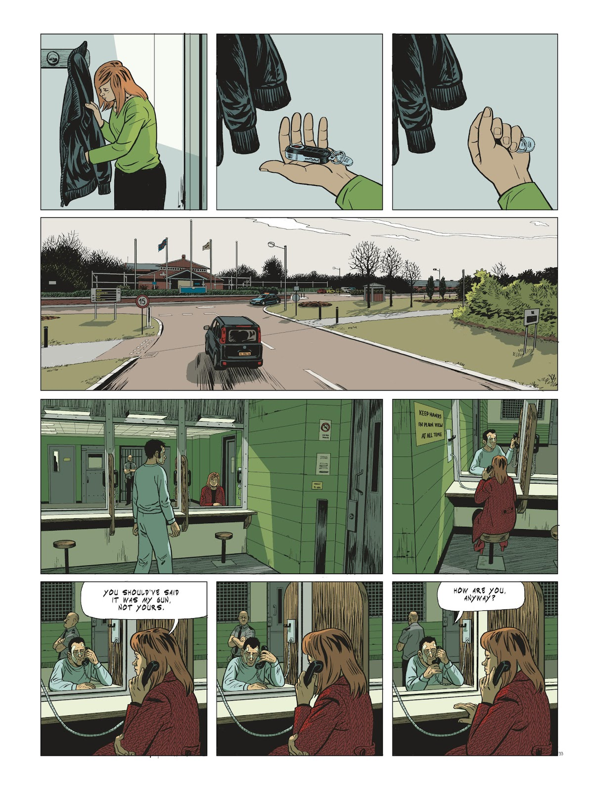 Read online Maggy Garrisson comic -  Issue #3 - 35