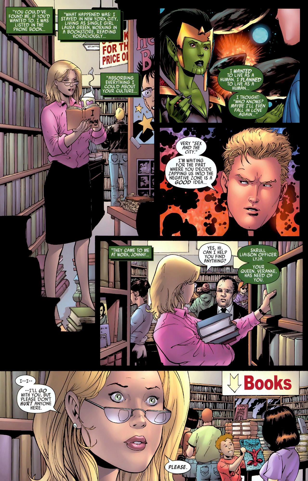 Read online Secret Invasion: Fantastic Four comic -  Issue #3 - 12