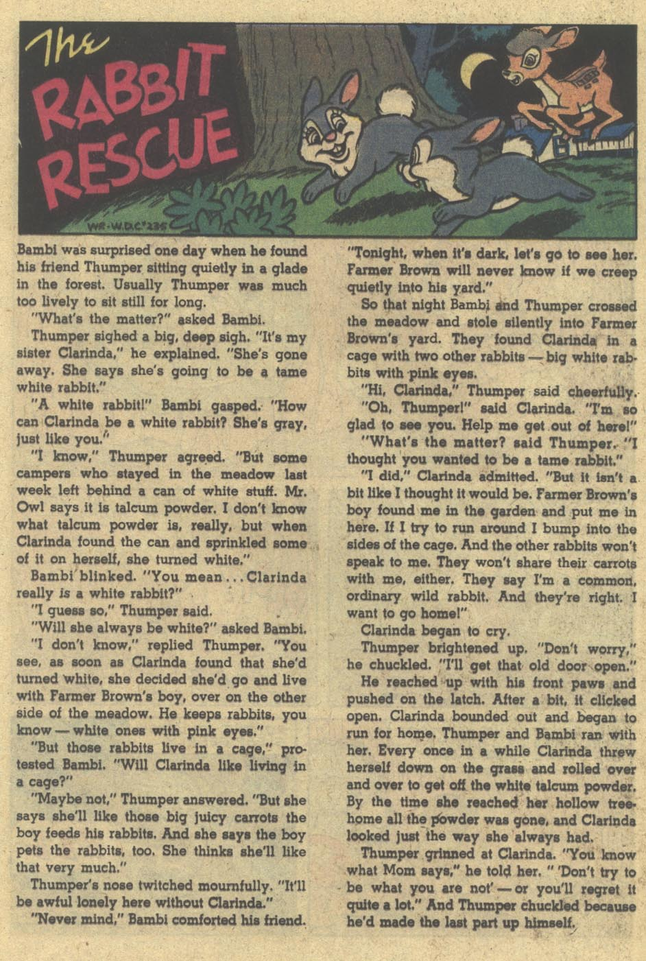 Walt Disney's Comics and Stories issue 501 - Page 21