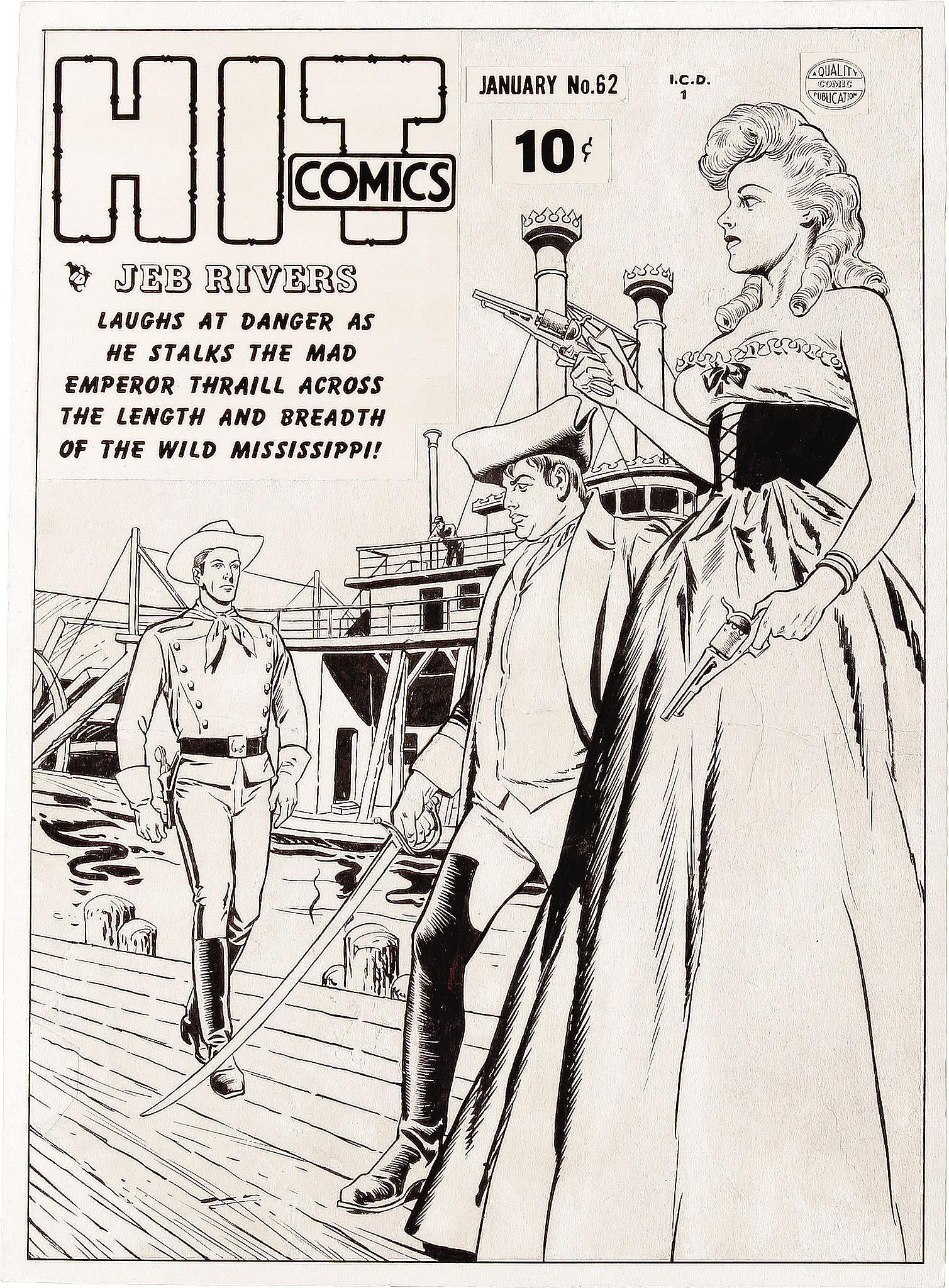 Read online Hit Comics comic -  Issue #62 - 2