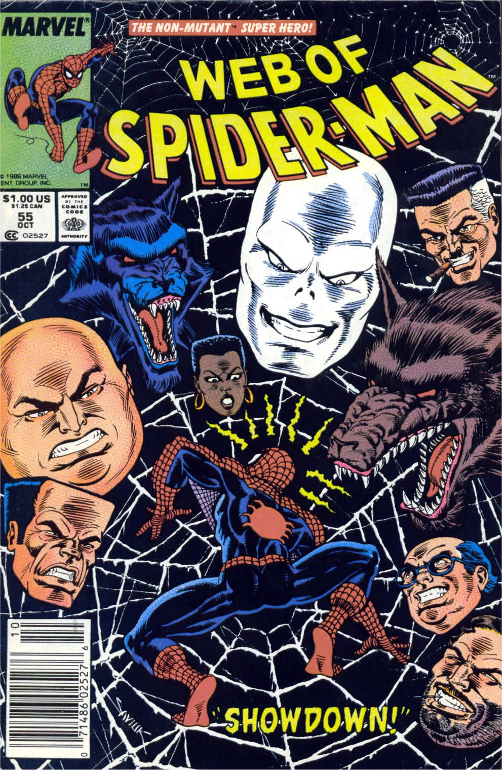 Web of Spider-Man (1985) 55 Page 1