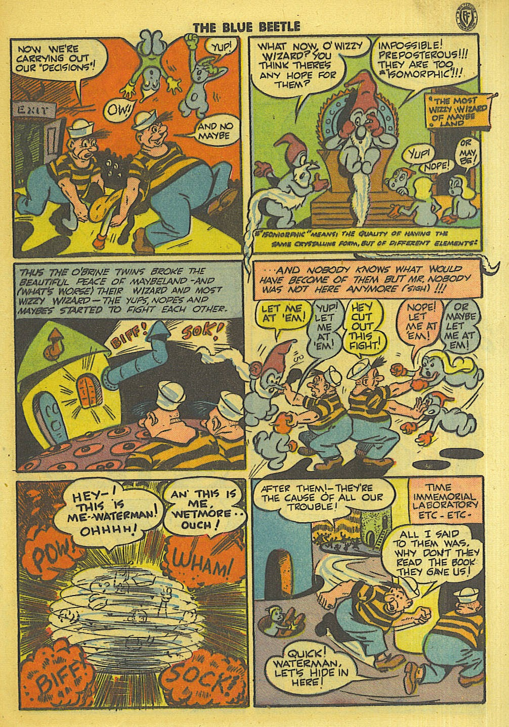 The Blue Beetle issue 35 - Page 34