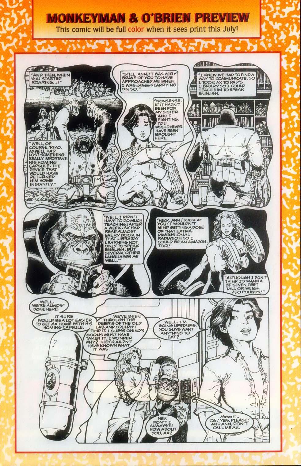 Godzilla (1995) Issue #12 #13 - English 33