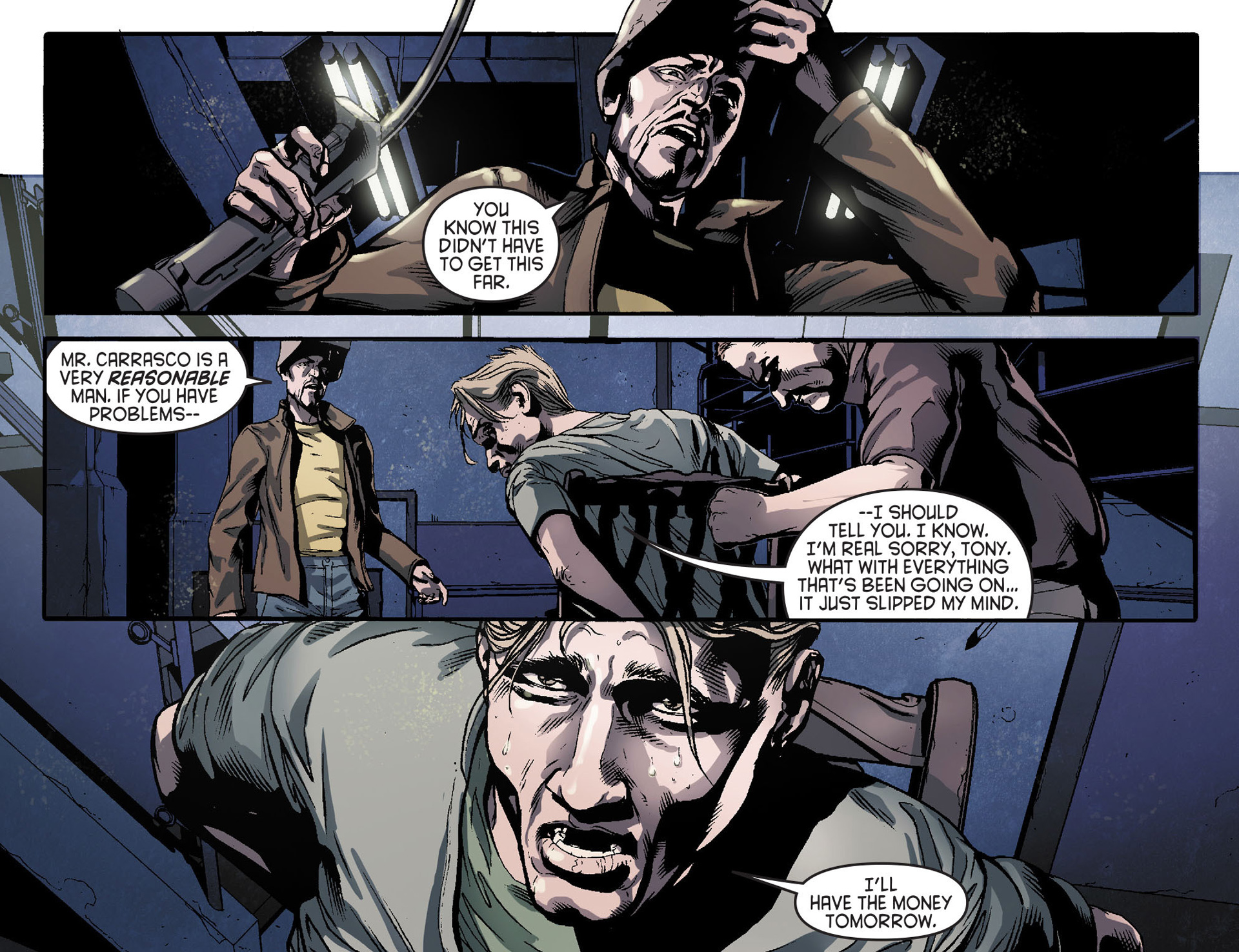 Read online Arrow [II] comic -  Issue #31 - 5