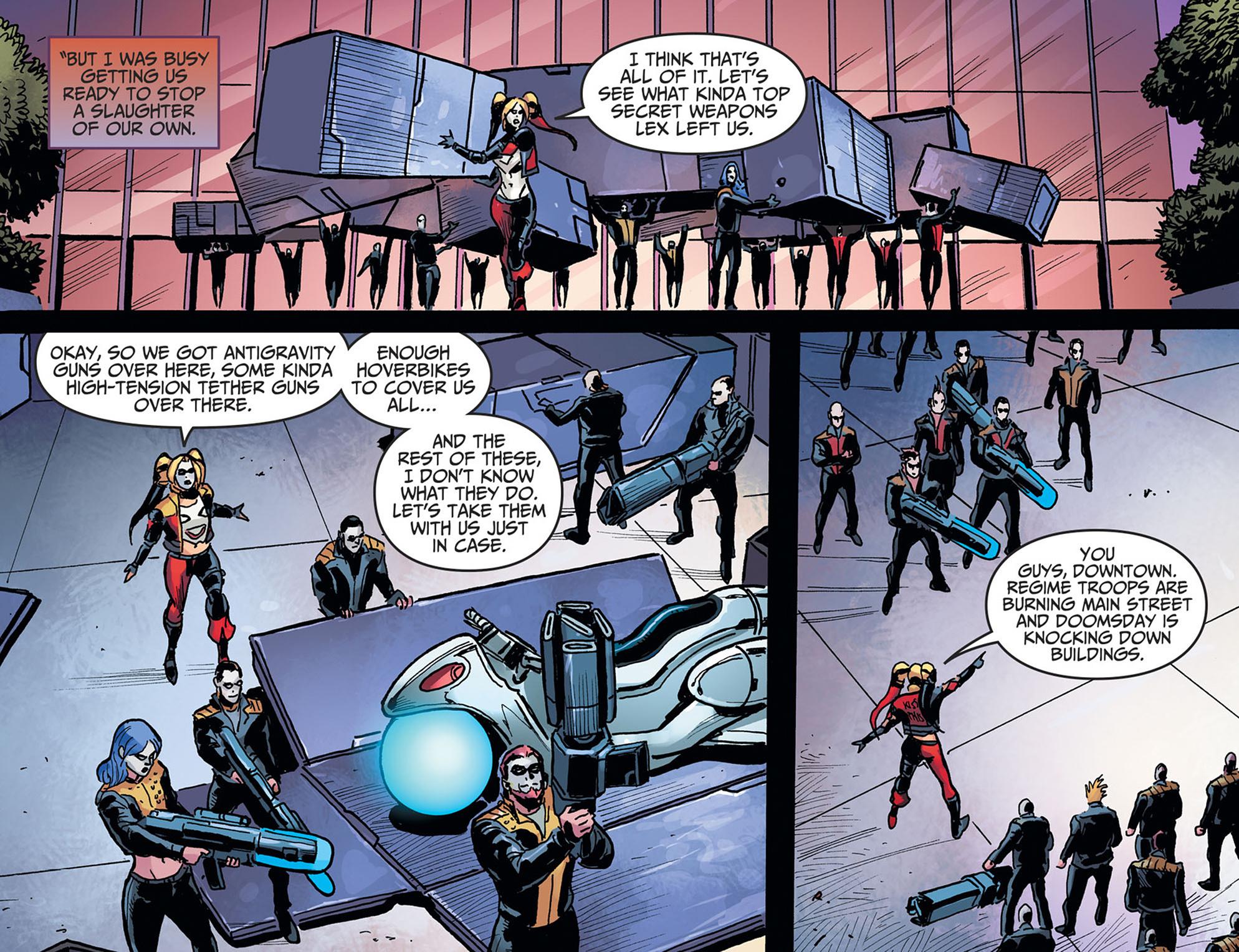 Read online Injustice: Ground Zero comic -  Issue #22 - 10