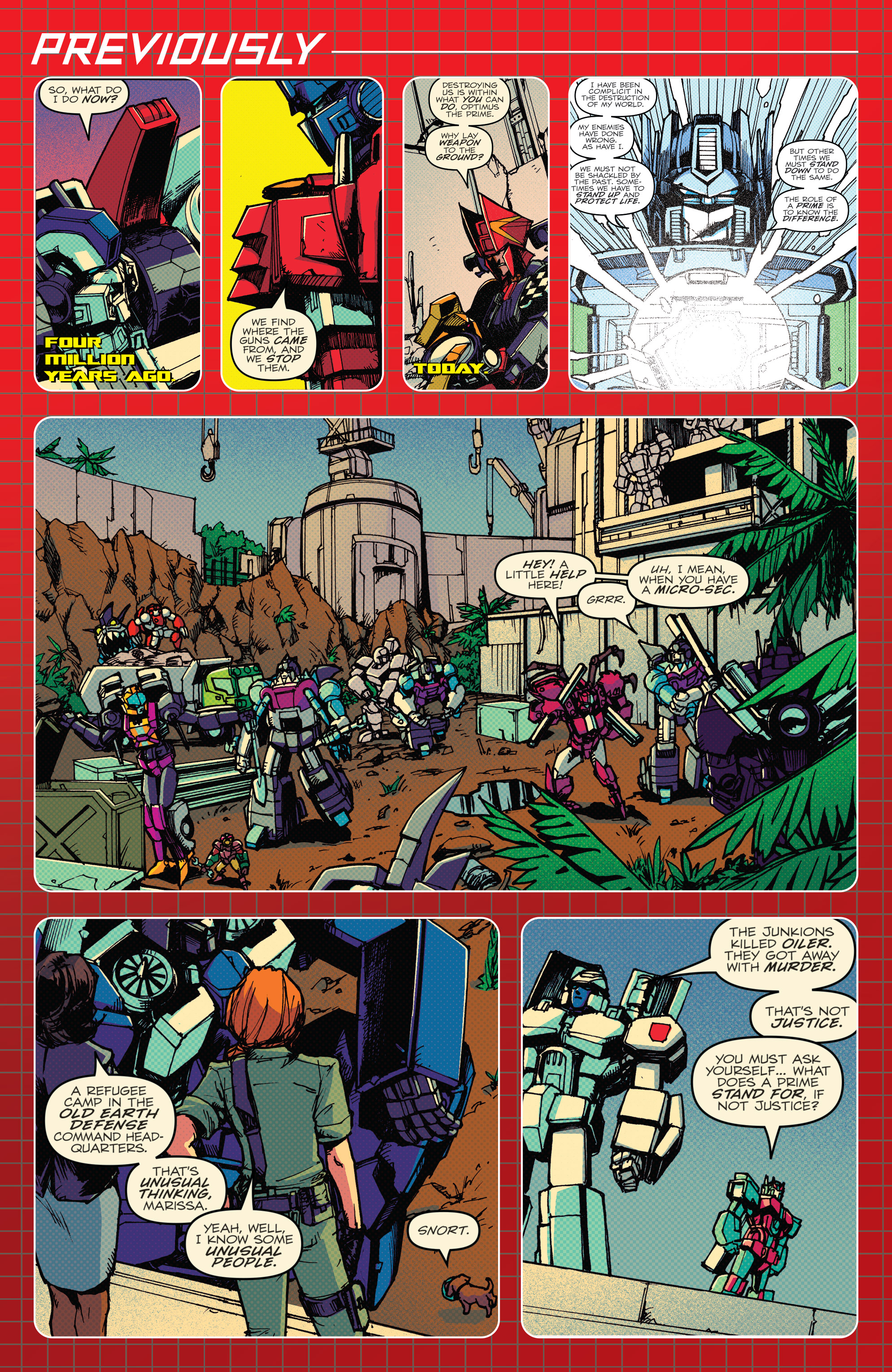 Read online Optimus Prime comic -  Issue #7 - 3