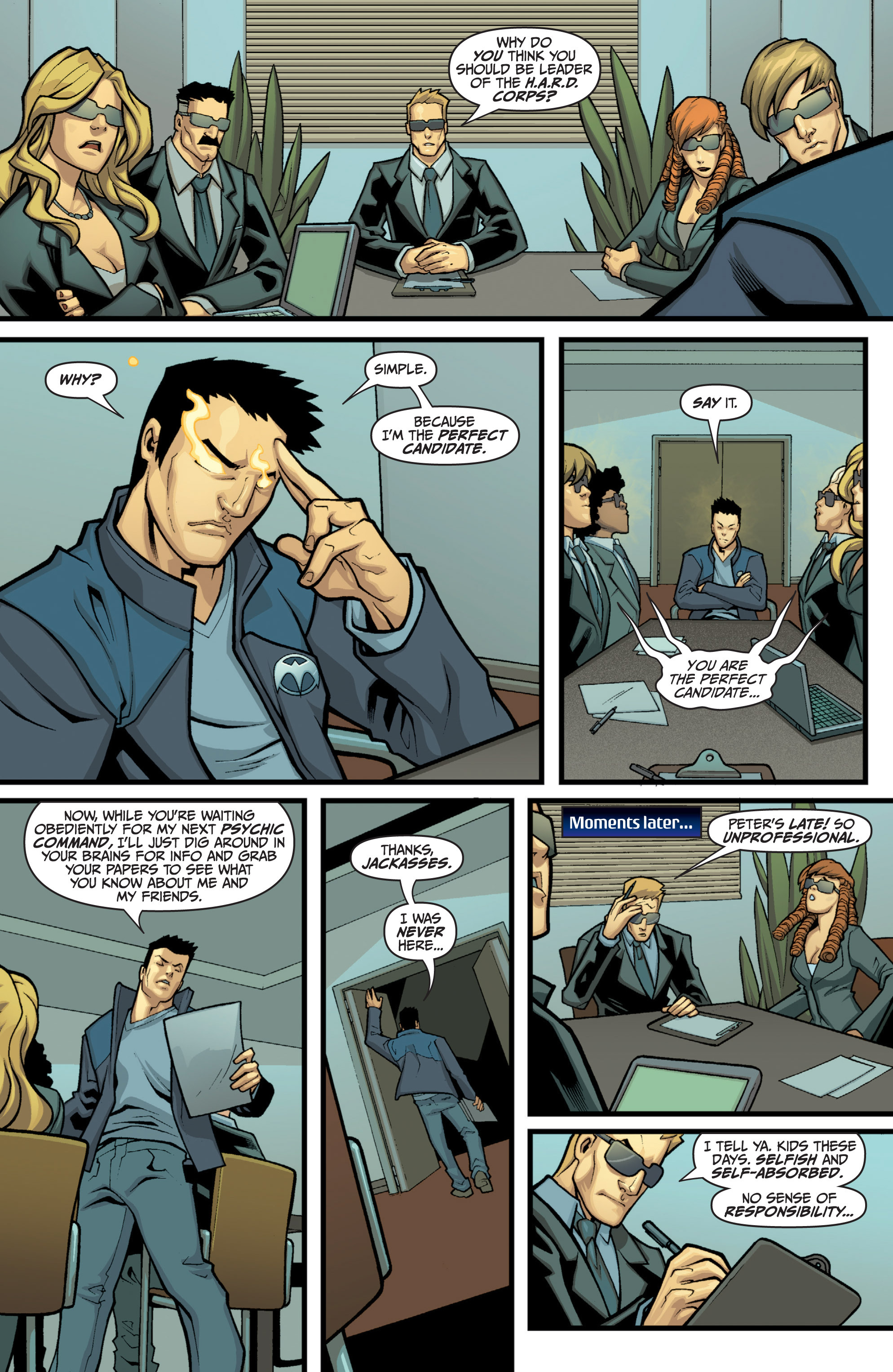 Read online Archer and Armstrong comic -  Issue #11 - 29