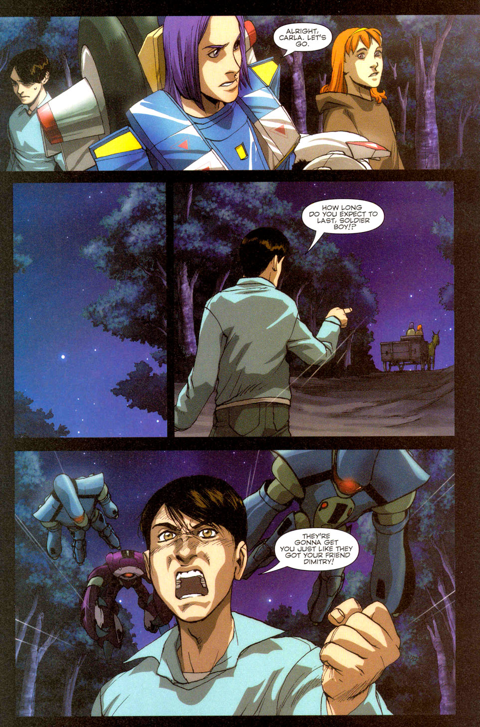 Read online Robotech: Invasion comic -  Issue #3 - 13