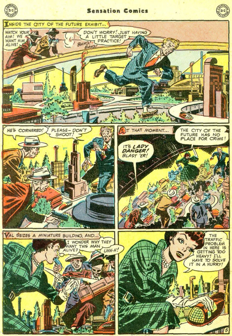 Read online Sensation (Mystery) Comics comic -  Issue #87 - 44