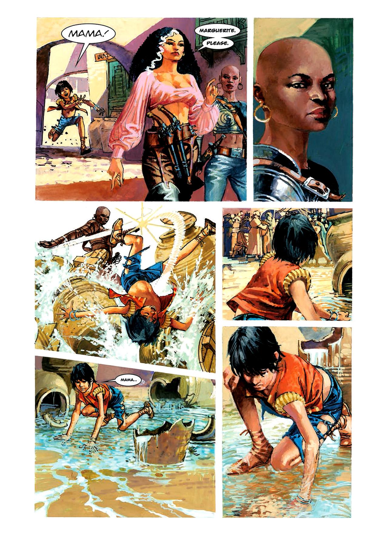 Read online Nikolai Dante comic -  Issue # TPB 6 - 85