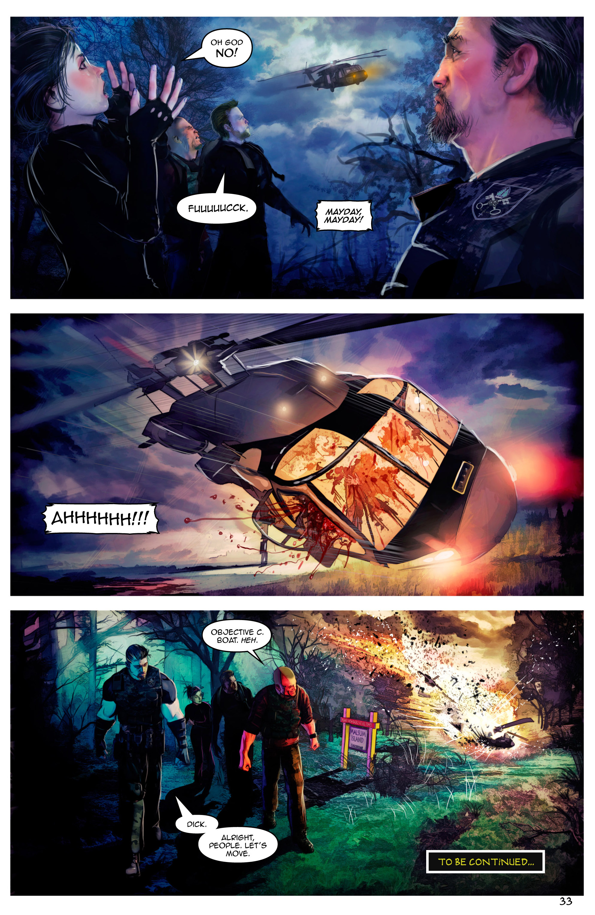 Read online Escape from Jesus Island comic -  Issue #2 - 33