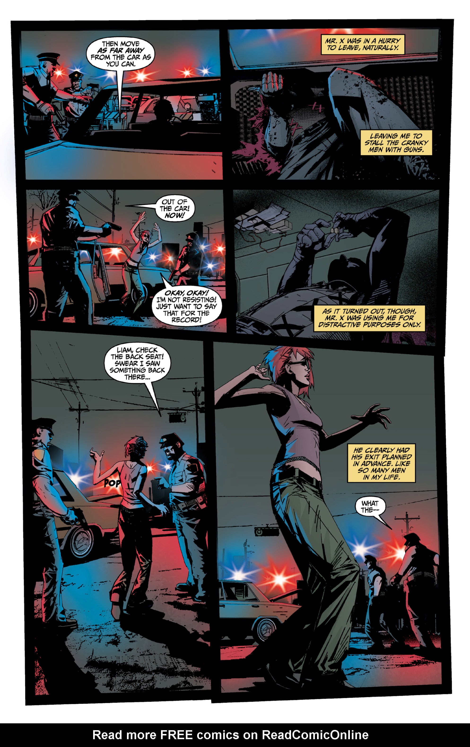Read online X: Big Bad comic -  Issue # Full - 60