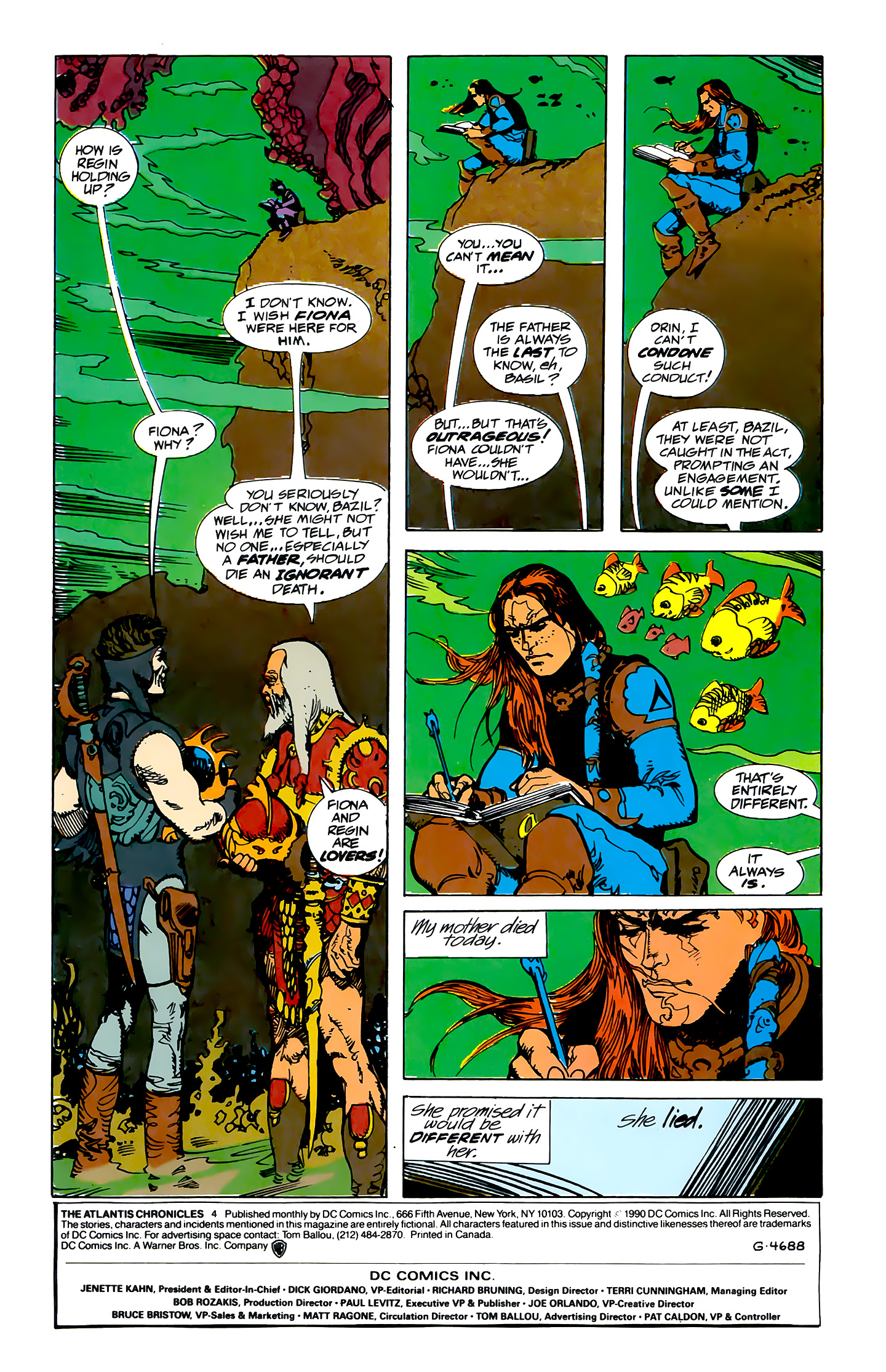 Read online Atlantis Chronicles comic -  Issue #4 - 2