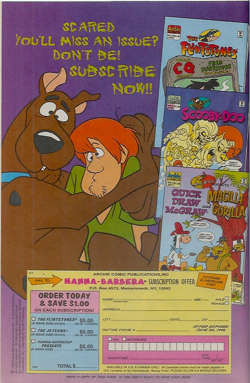Read online Scooby-Doo (1995) comic -  Issue #9 - 10