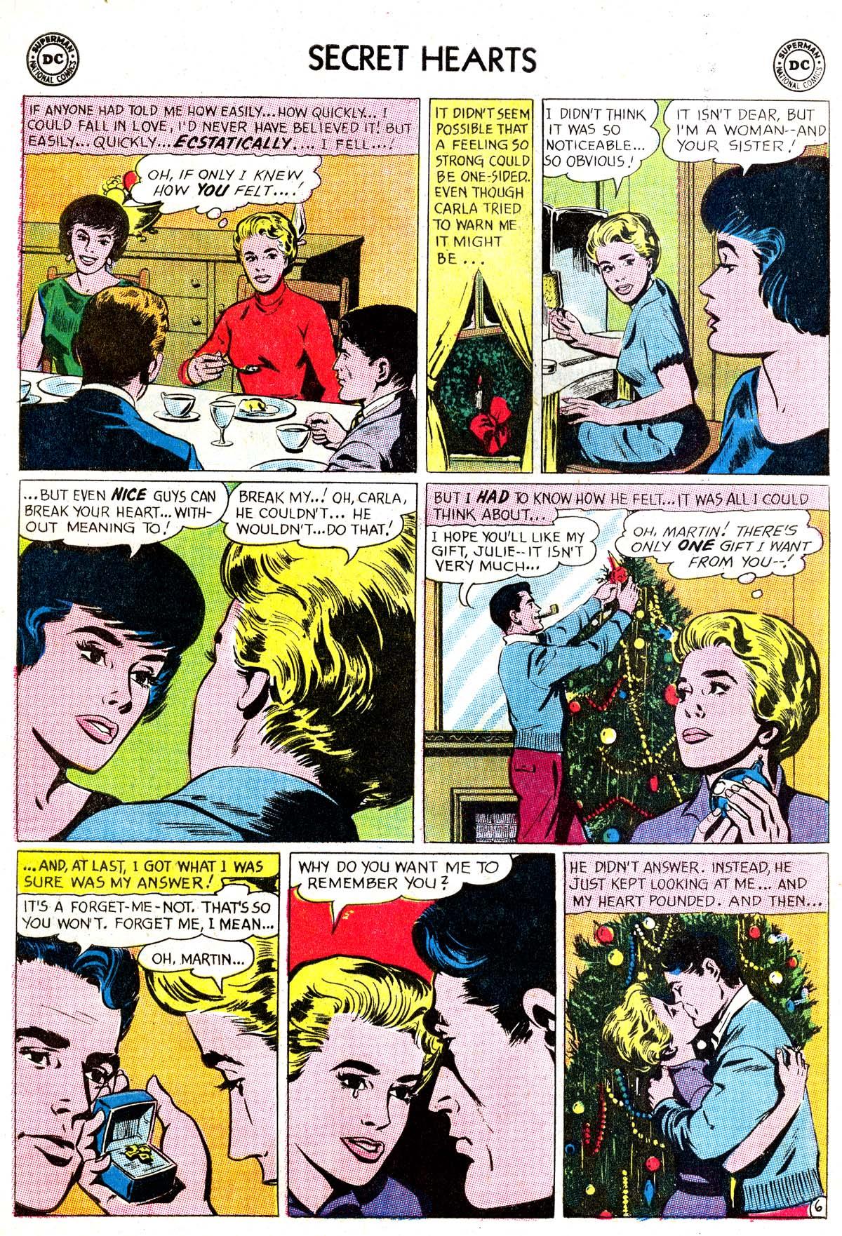 Read online Secret Hearts comic -  Issue #87 - 24