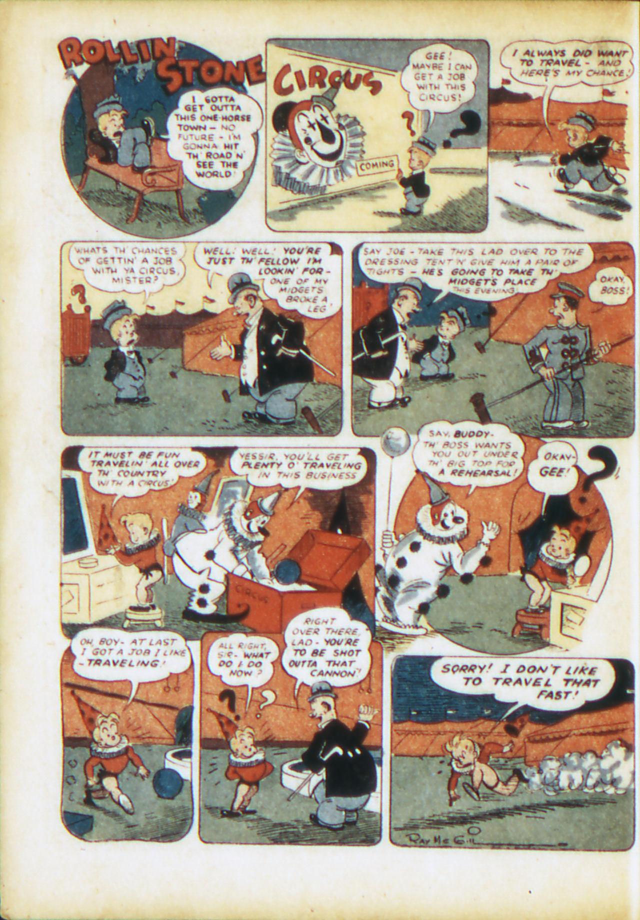 Read online Adventure Comics (1938) comic -  Issue #71 - 33