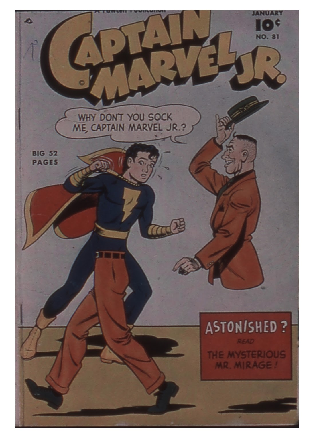 Captain Marvel, Jr. issue 81 - Page 1