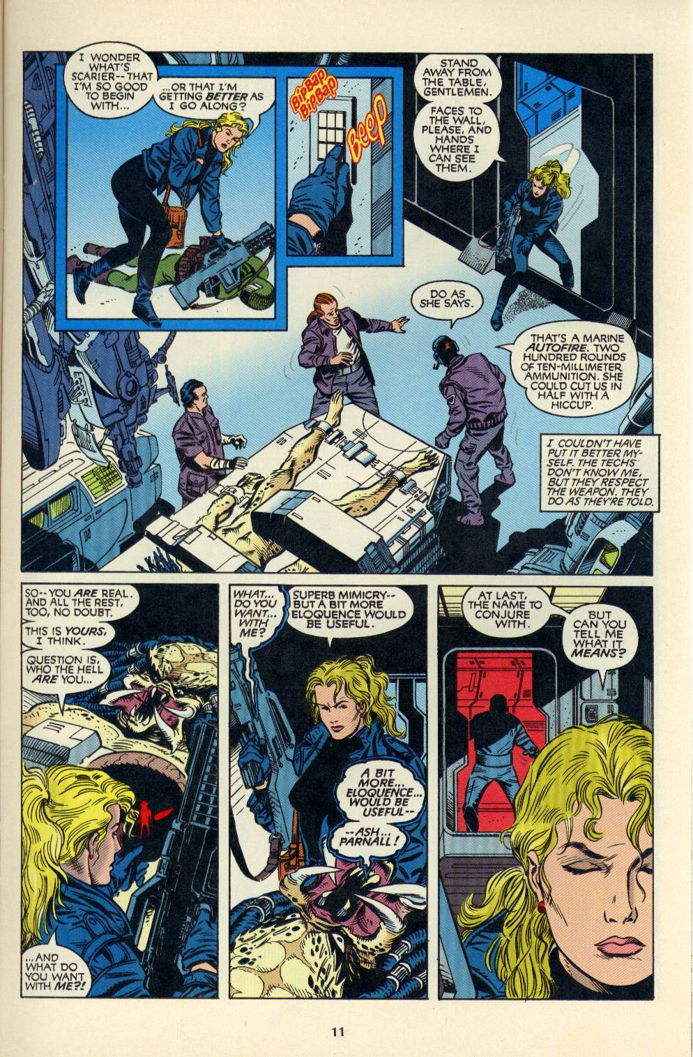 Read online Aliens/Predator: The Deadliest of the Species comic -  Issue #4 - 12