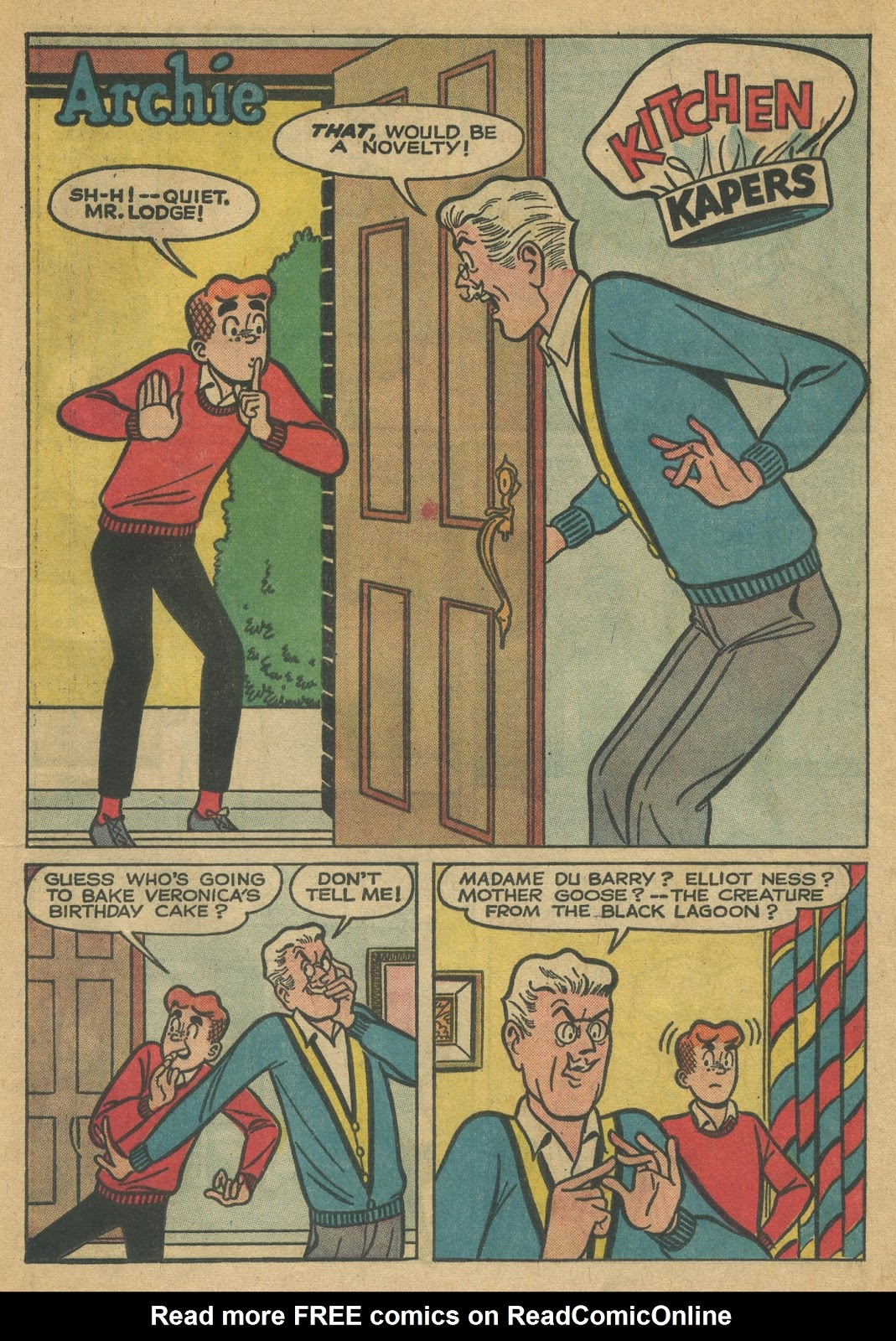 Read online Archie (1960) comic -  Issue #152 - 29