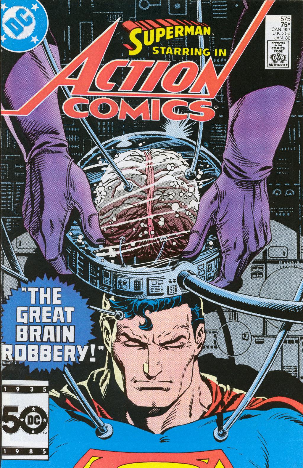 Action Comics (1938) 575 Page 0
