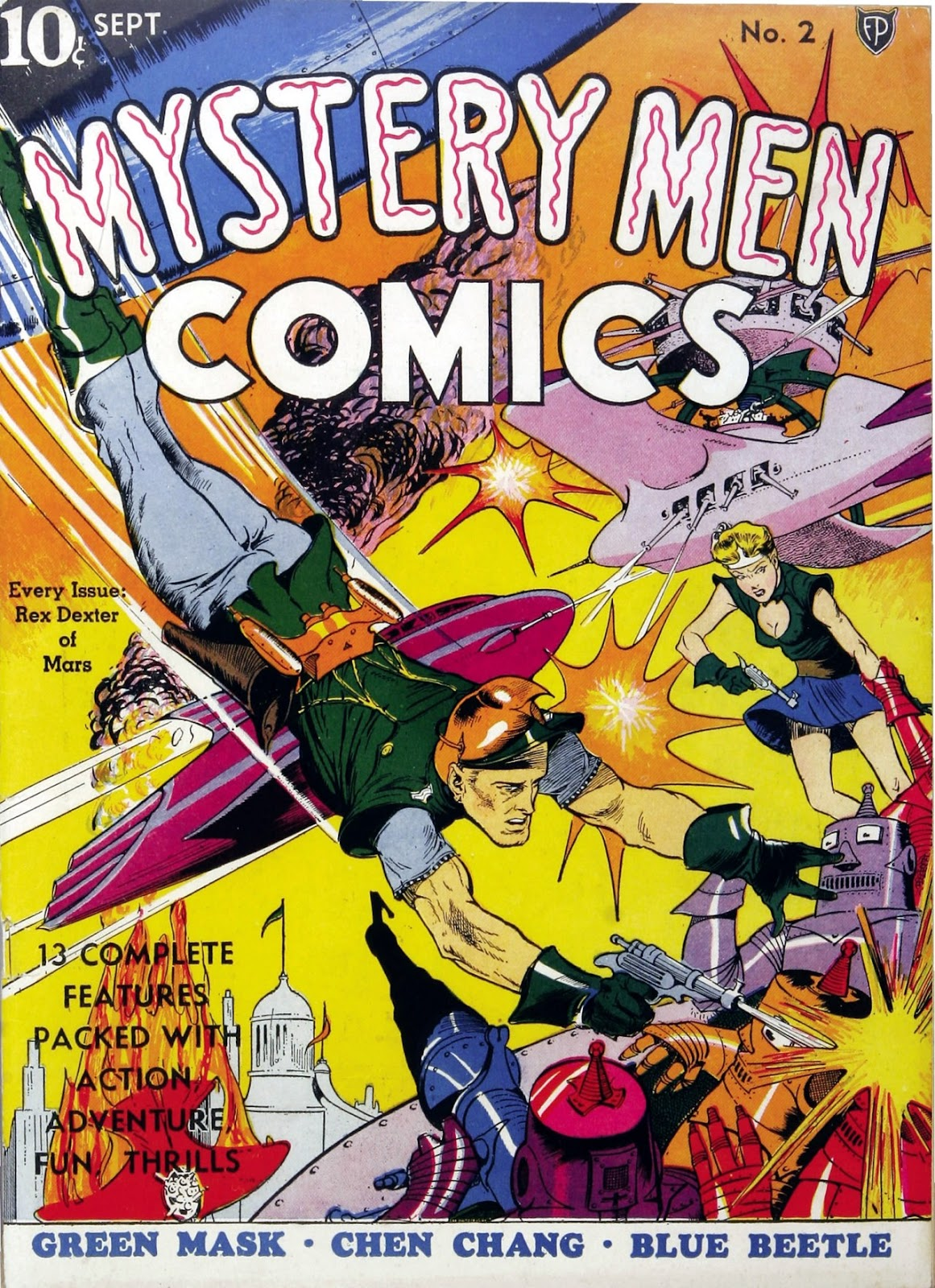 Mystery Men Comics issue 2 - Page 1