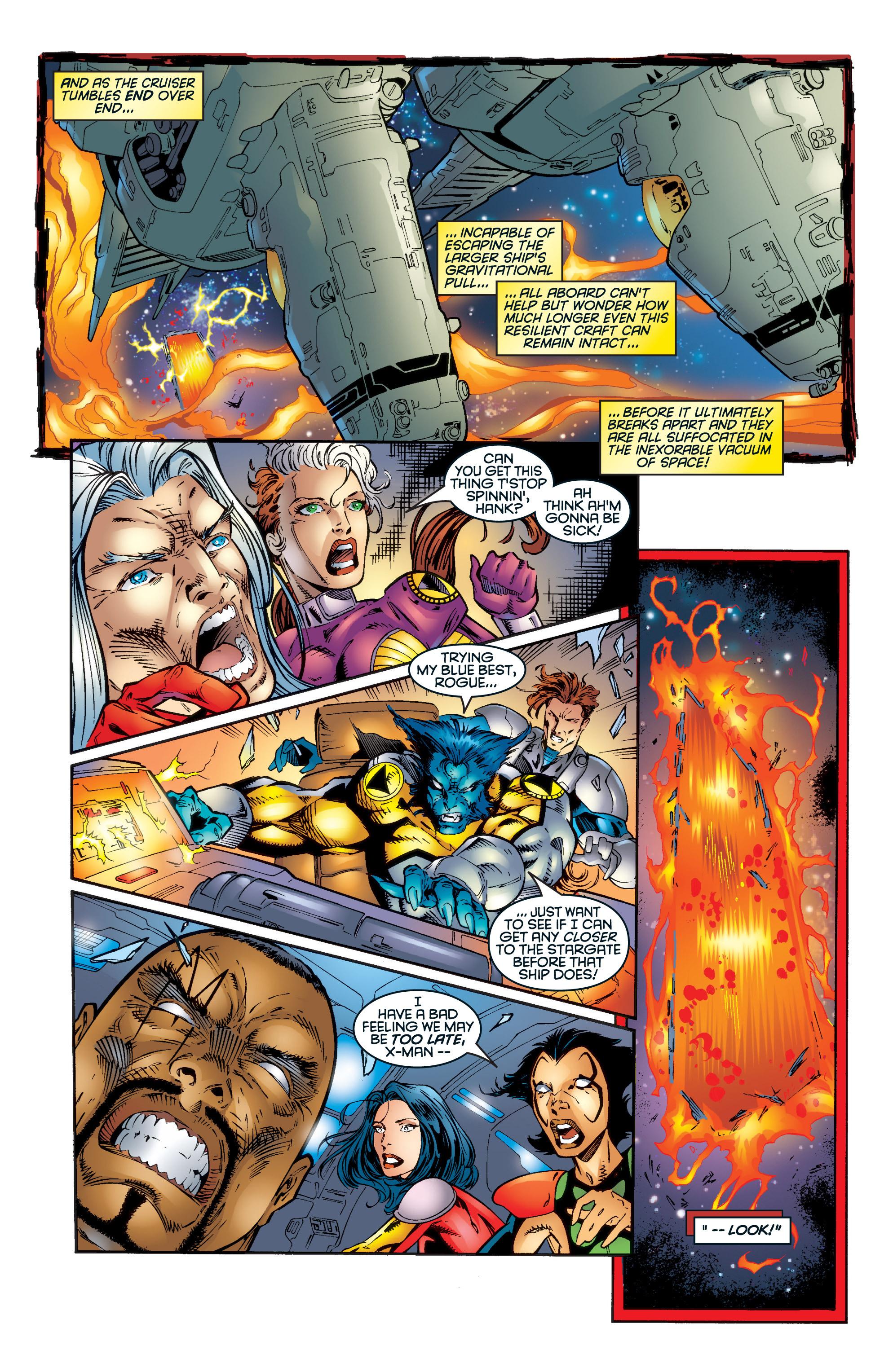 Read online Uncanny X-Men (1963) comic -  Issue #345 - 24