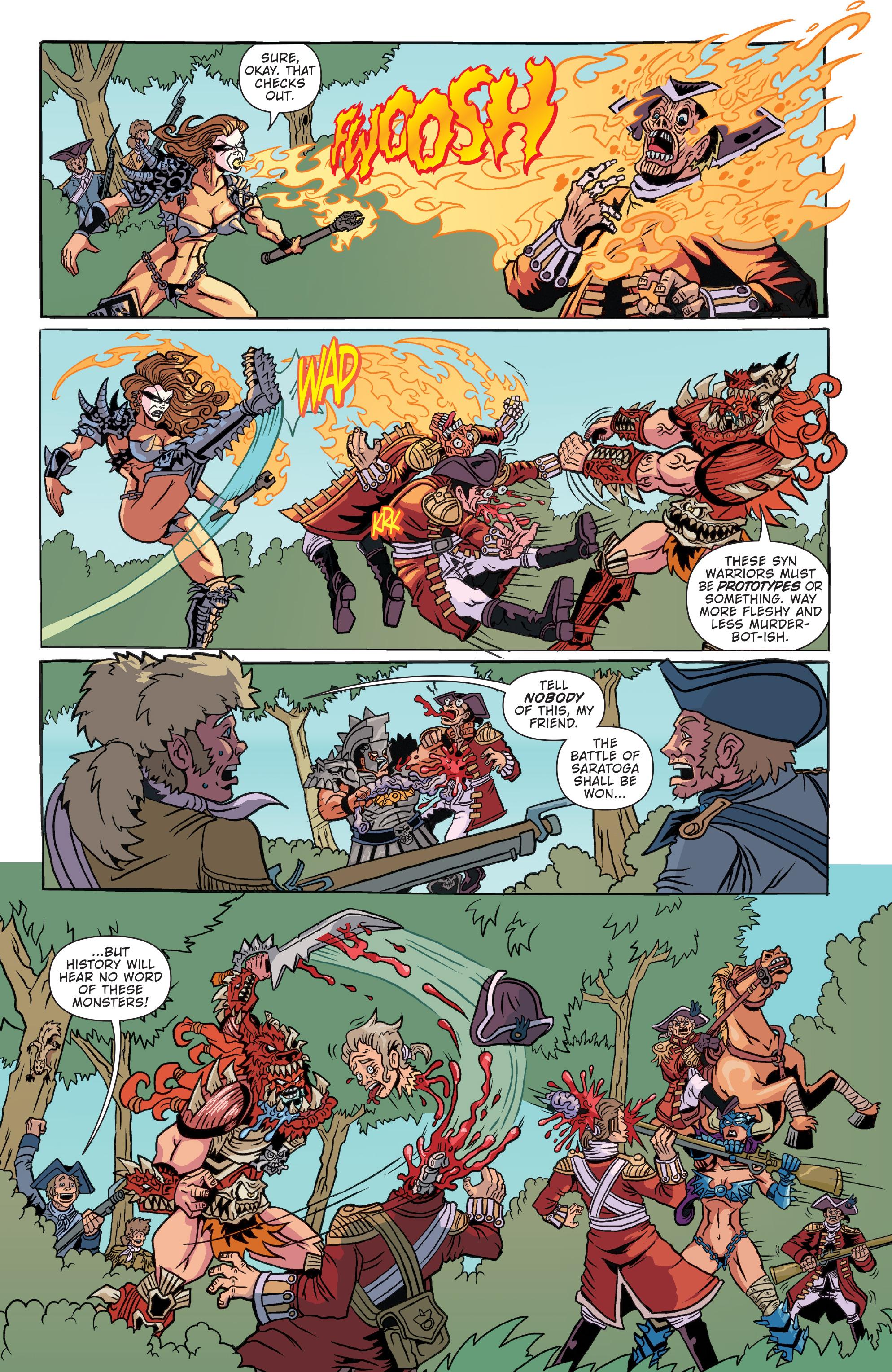 Read online Gwar: Orgasmageddon comic -  Issue #1 - 13