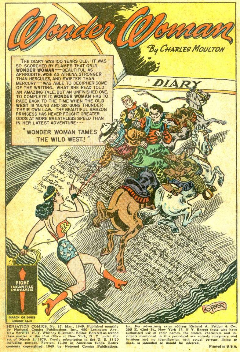 Read online Sensation (Mystery) Comics comic -  Issue #87 - 3