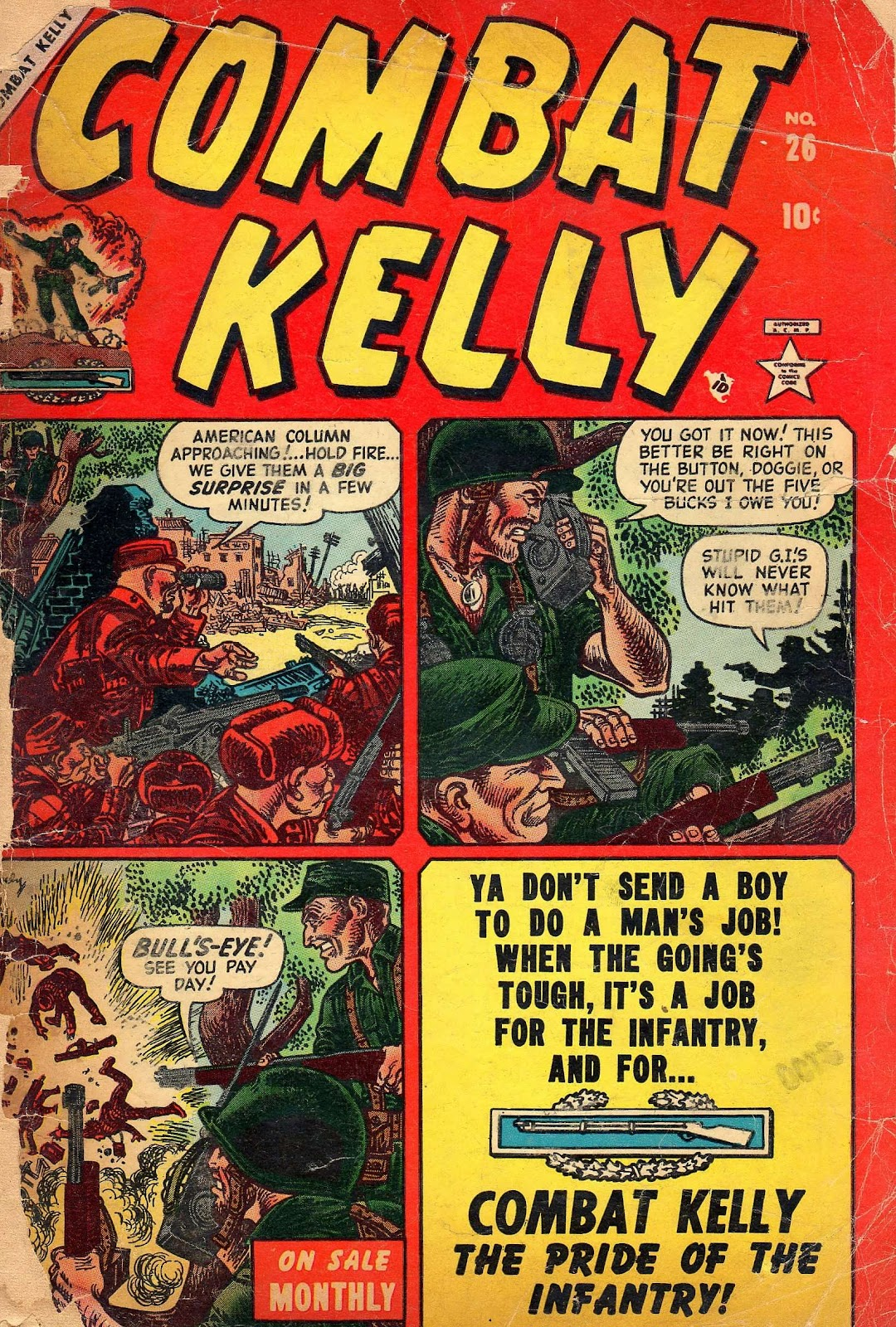 Combat Kelly (1951) issue 26 - Page 1