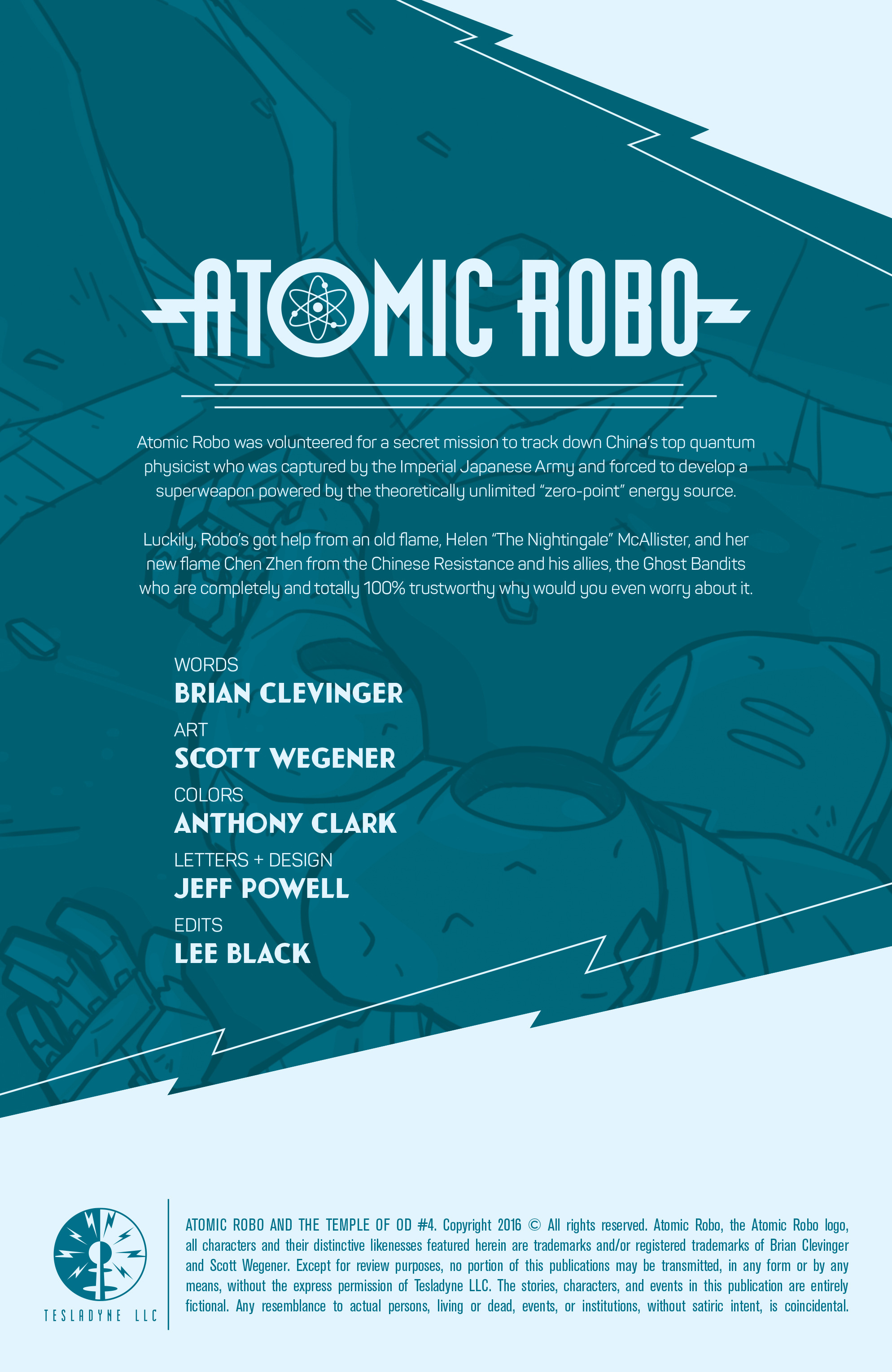 Read online Atomic Robo and the Temple of Od comic -  Issue #4 - 2