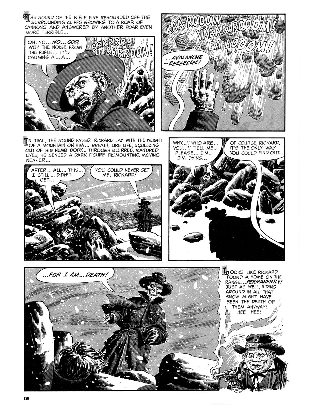 Read online Eerie Archives comic -  Issue # TPB 2 - 137